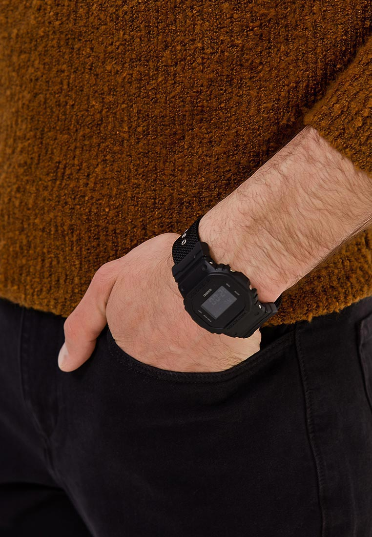 Мужские часы Casio DW-5600BBN-1E: изображение 11