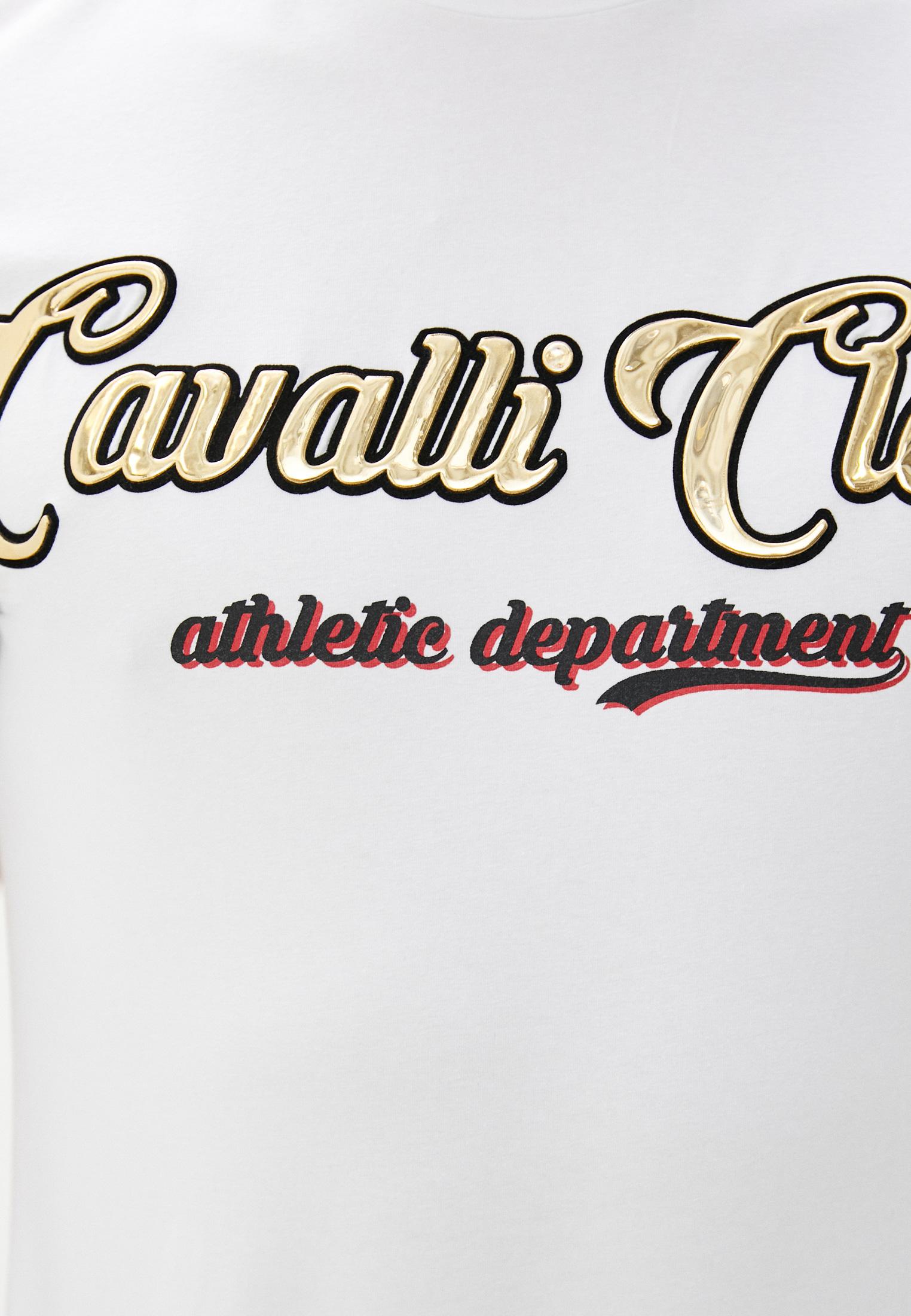 Футболка Cavalli Class B3JVB7113662: изображение 4