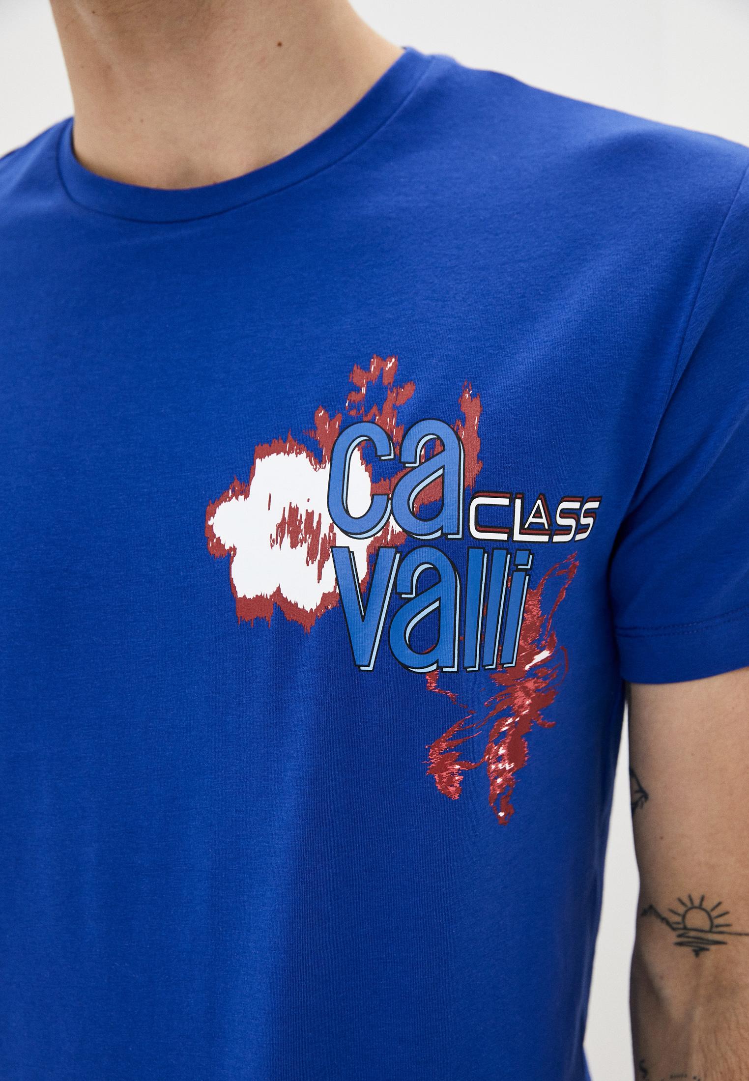 Футболка Cavalli Class B3JVB7133662: изображение 4