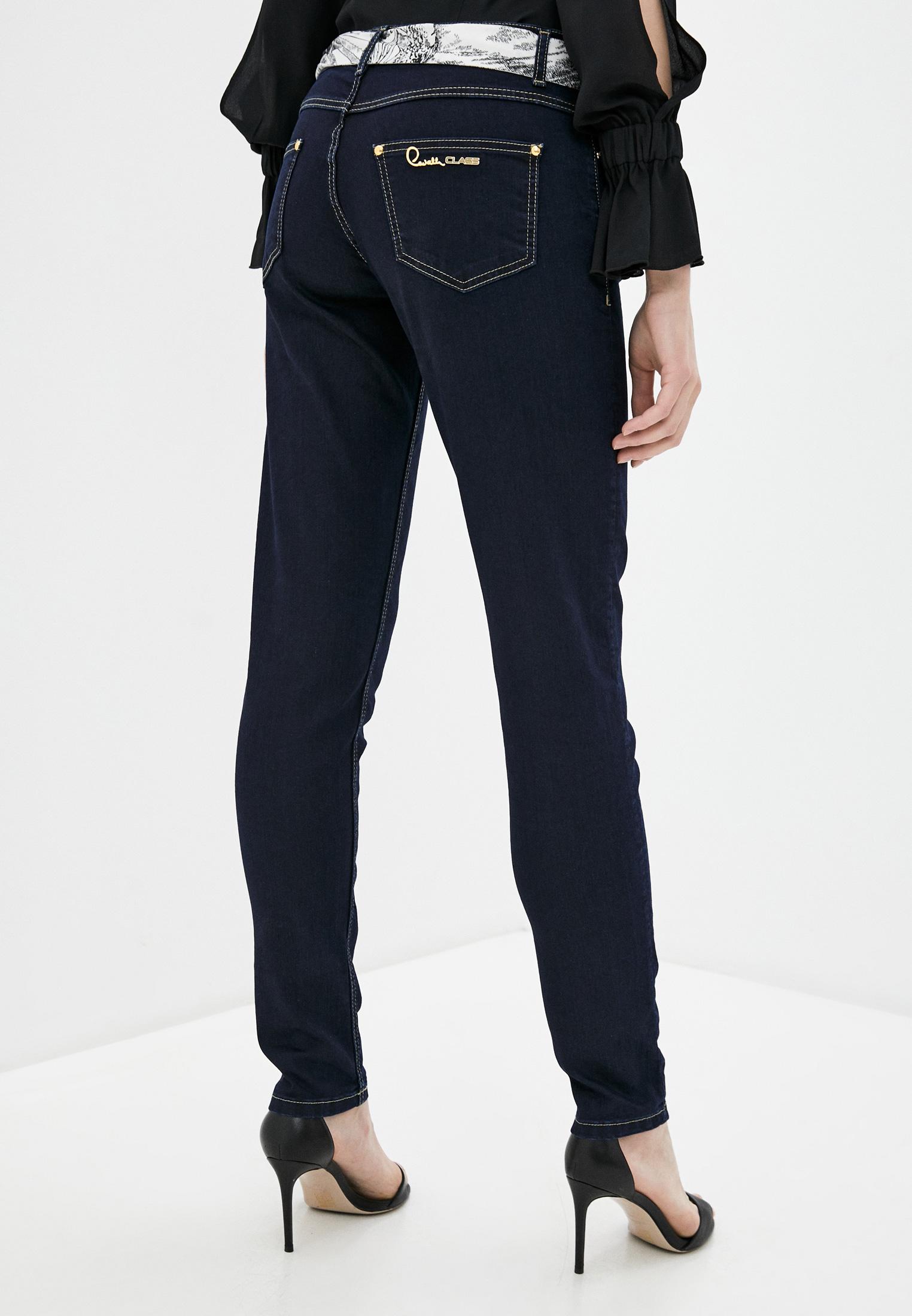 Зауженные джинсы Cavalli Class A1IVA0066018: изображение 3