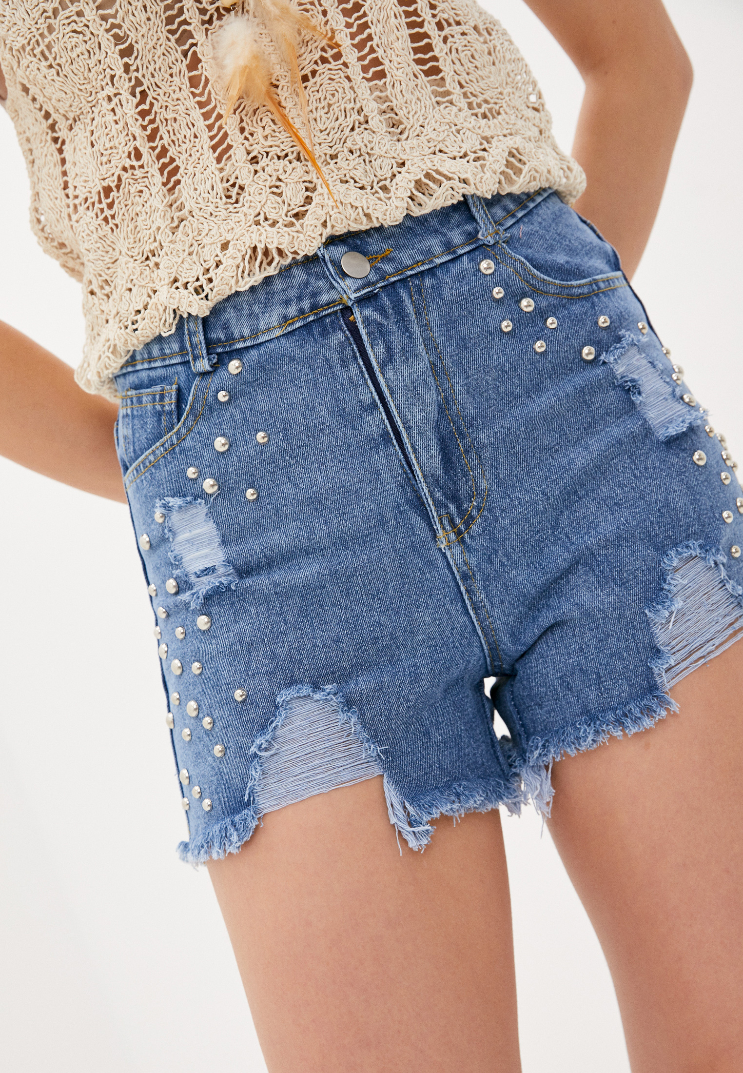 Женские джинсовые шорты Care of You F56039: изображение 1