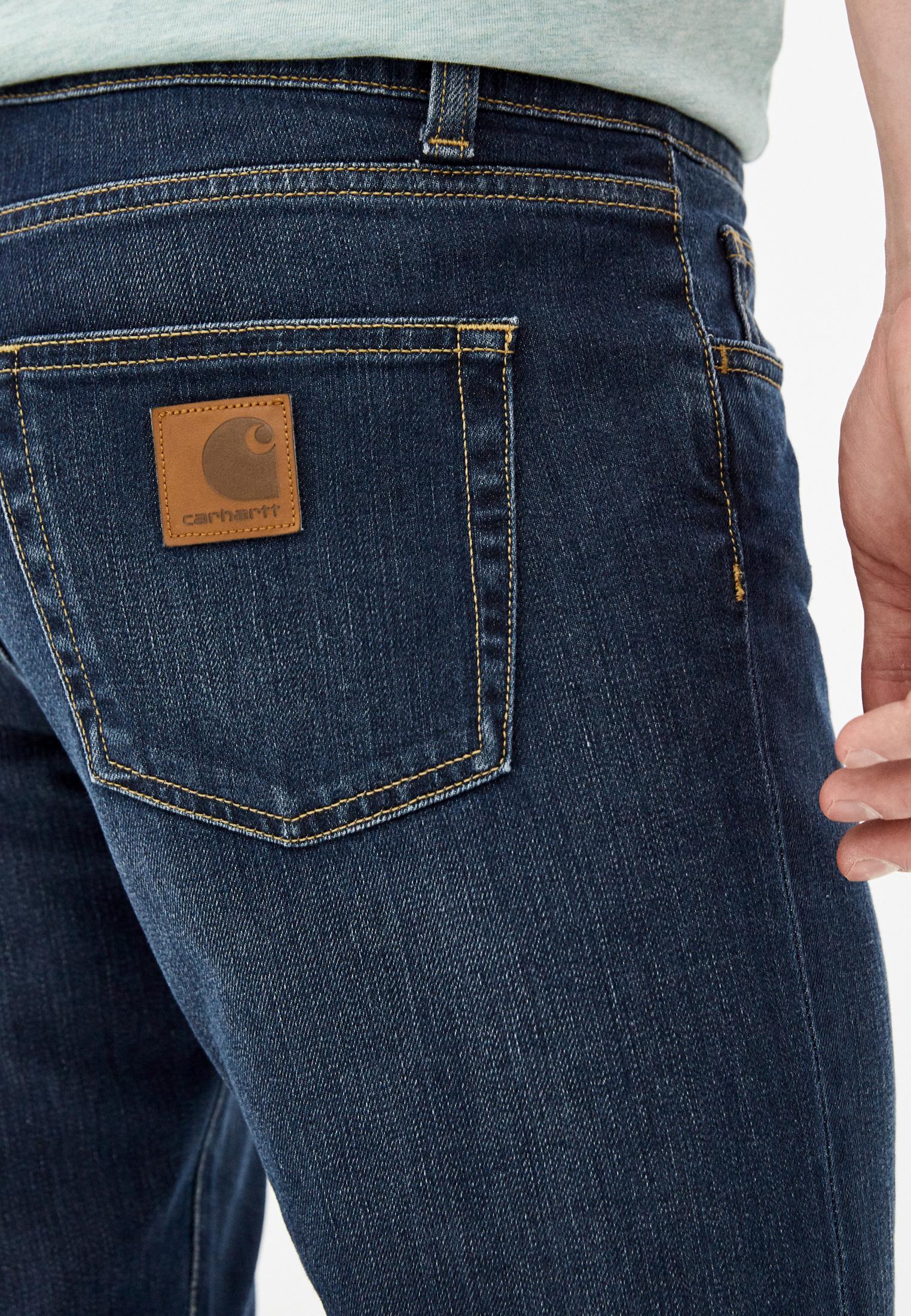 Зауженные джинсы Carhartt WIP I015331: изображение 4