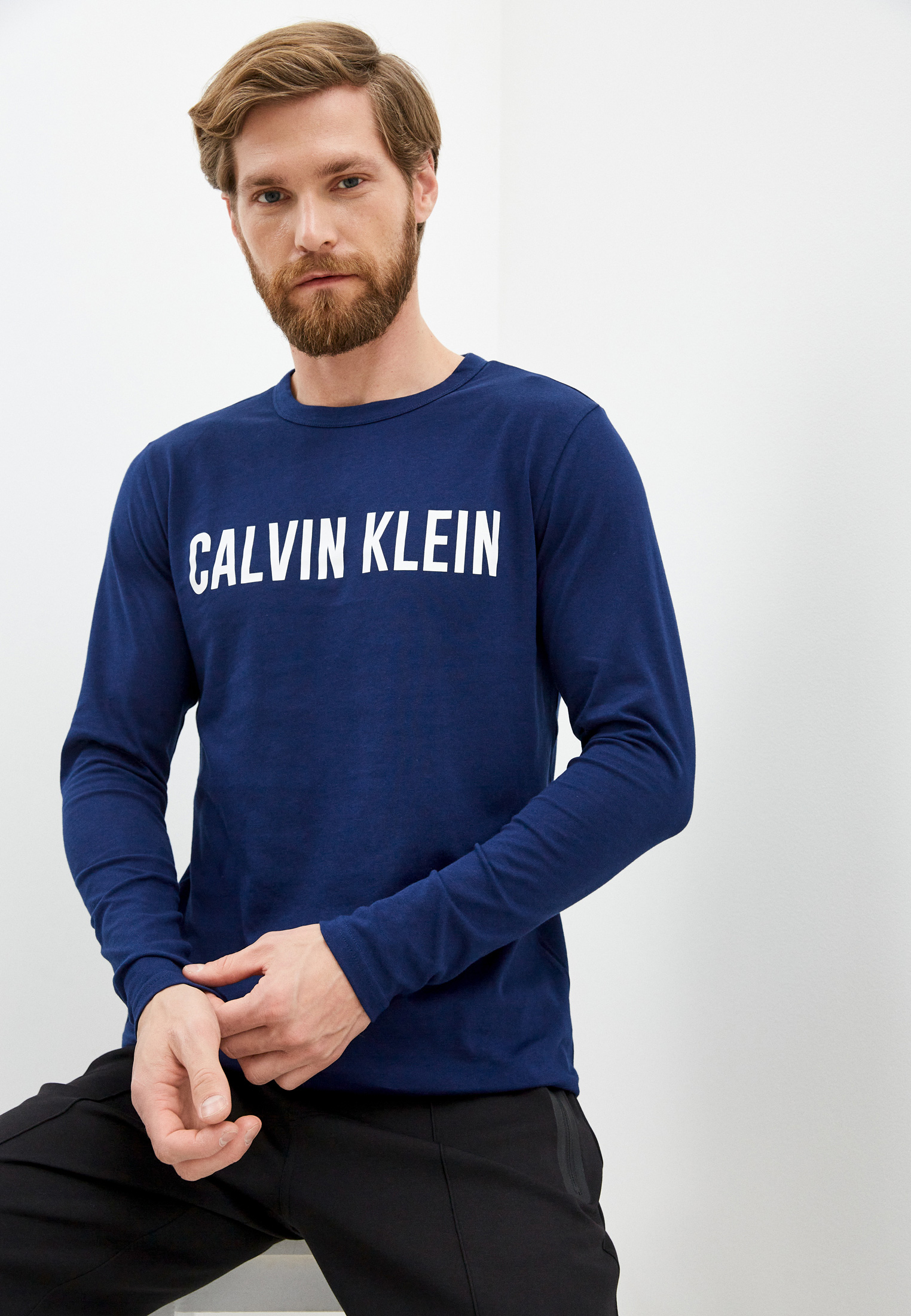 Футболка с длинным рукавом Calvin Klein Performance 00GMF0K244
