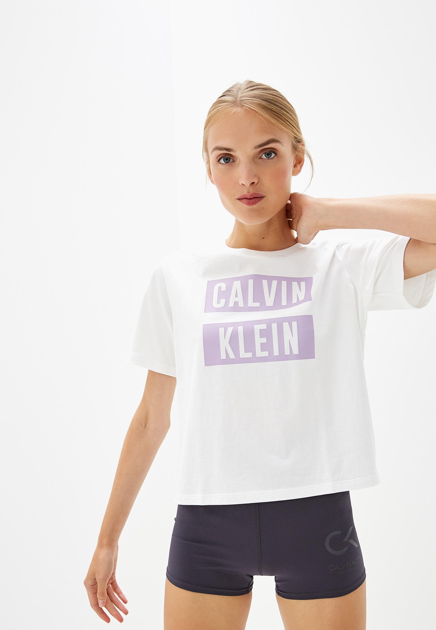 Футболка с коротким рукавом Calvin Klein Performance 00GWT9K136