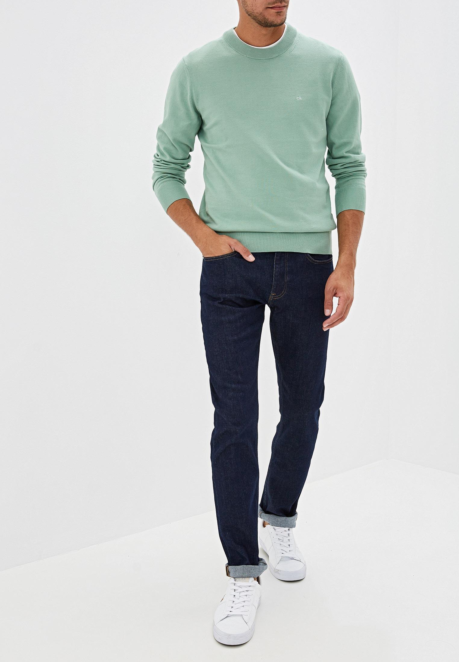 Зауженные джинсы Calvin Klein (Кельвин Кляйн) k10k104359: изображение 2
