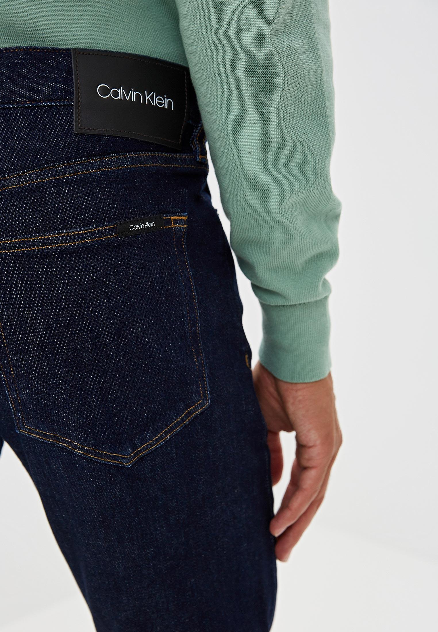 Зауженные джинсы Calvin Klein (Кельвин Кляйн) k10k104359: изображение 4