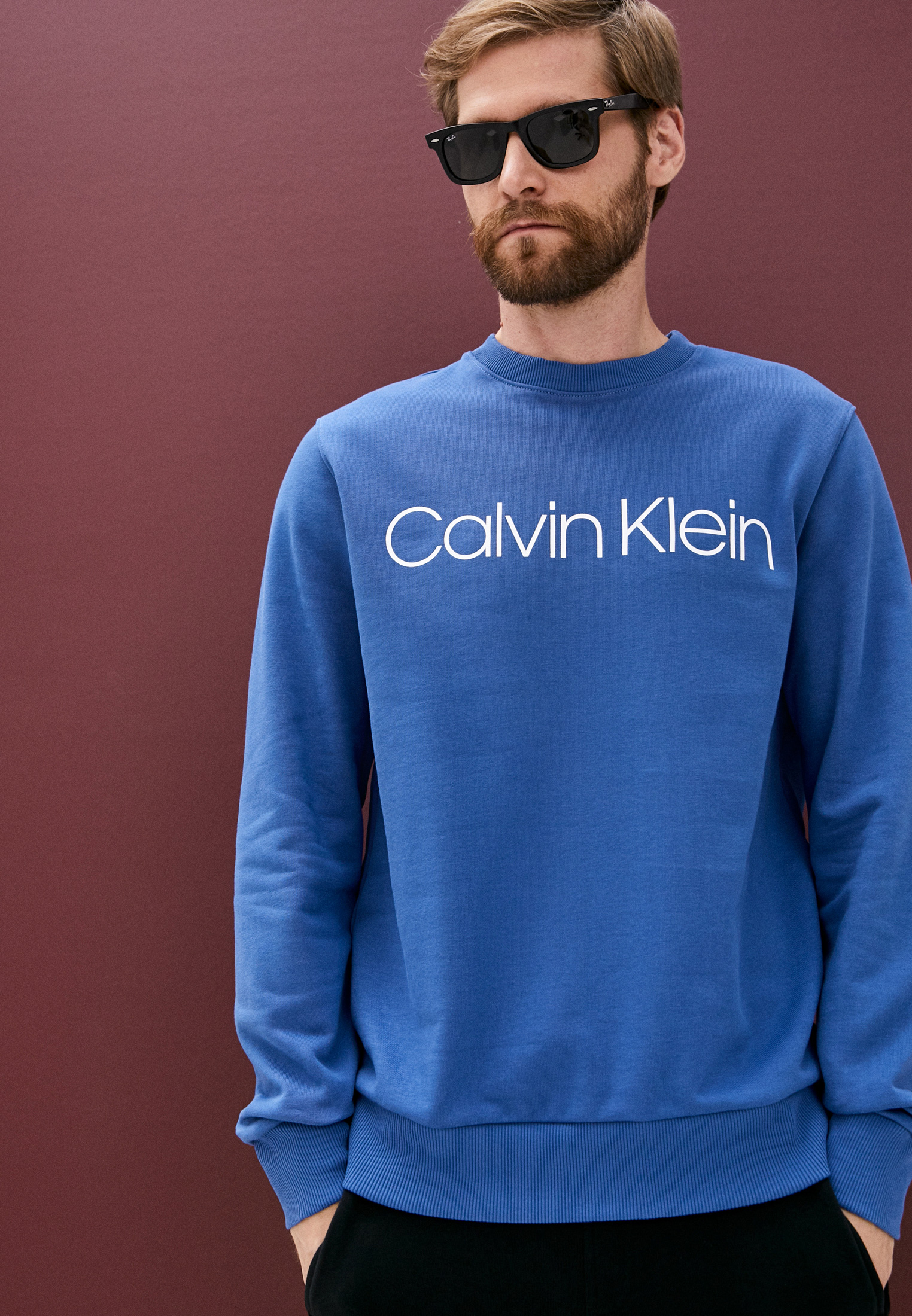 Свитер Calvin Klein (Кельвин Кляйн) K10K102724: изображение 6