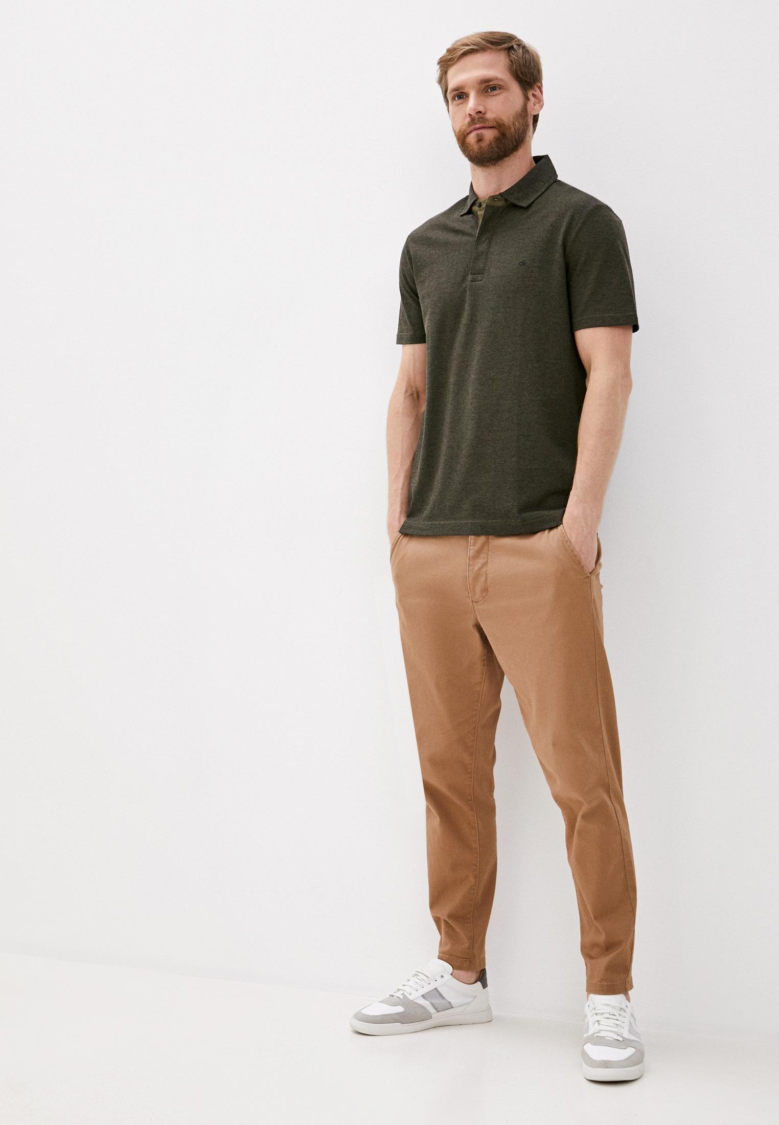 Мужские поло Calvin Klein (Кельвин Кляйн) K10K105663: изображение 3