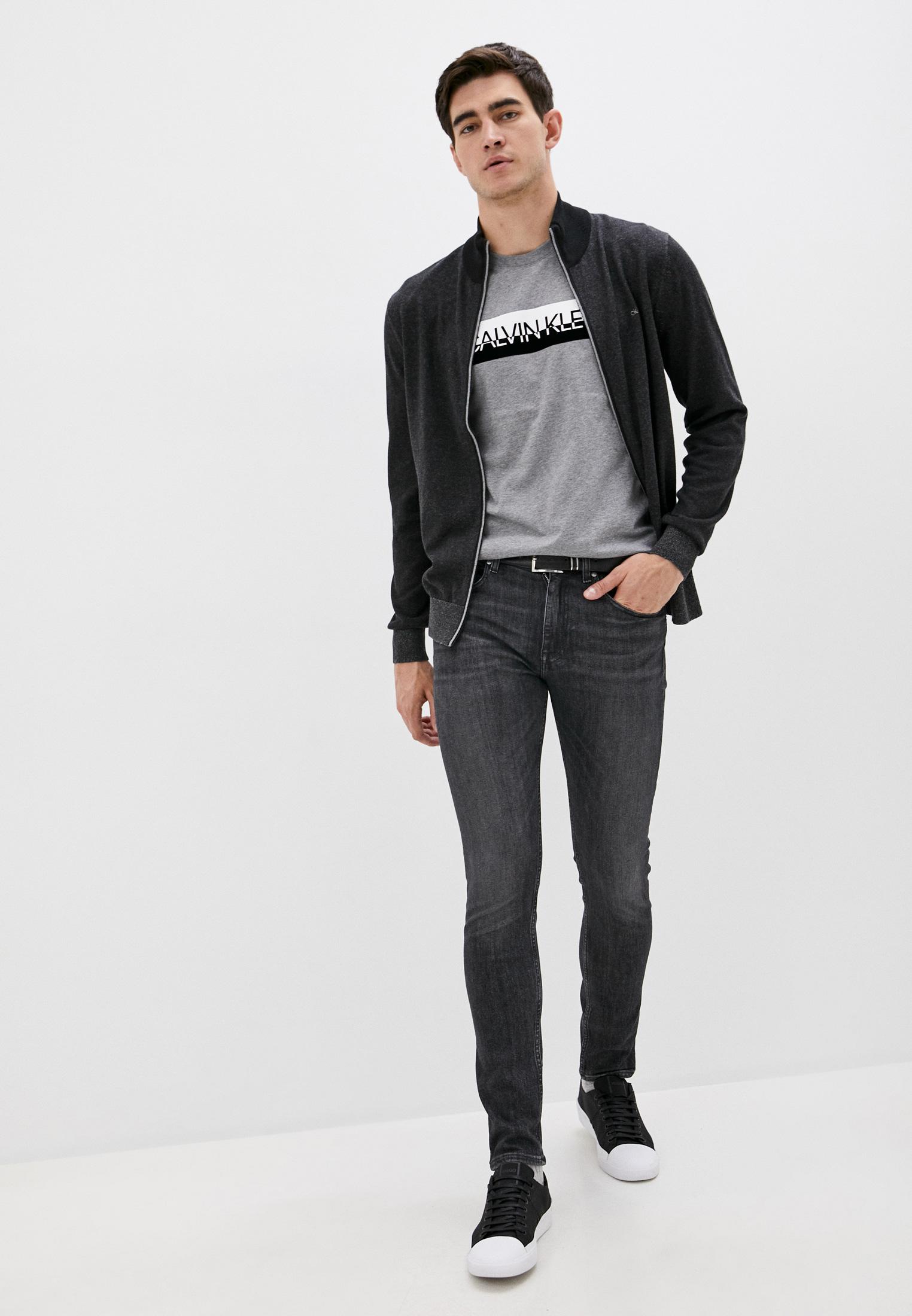 Зауженные джинсы Calvin Klein (Кельвин Кляйн) K10K105675: изображение 3