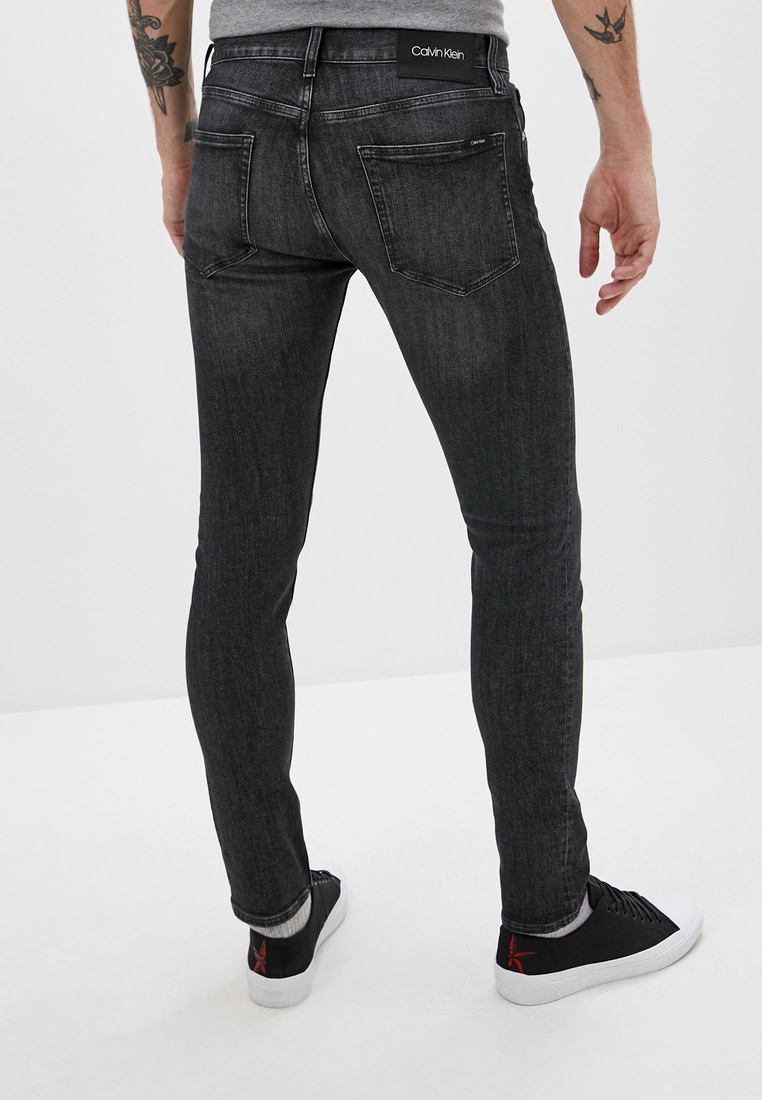 Зауженные джинсы Calvin Klein (Кельвин Кляйн) K10K105675: изображение 4