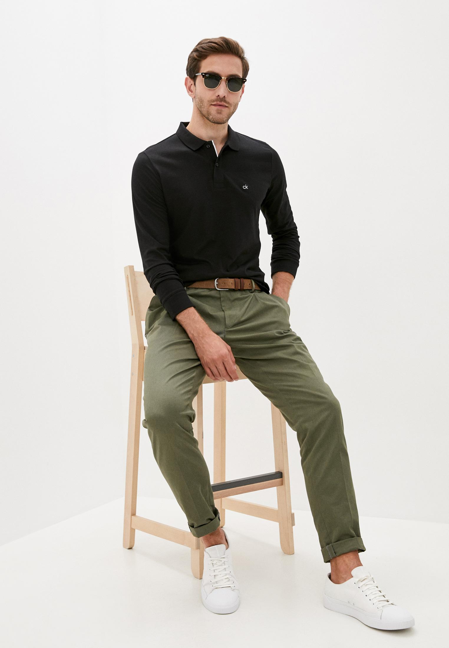 Мужские поло Calvin Klein (Кельвин Кляйн) K10K105691: изображение 2