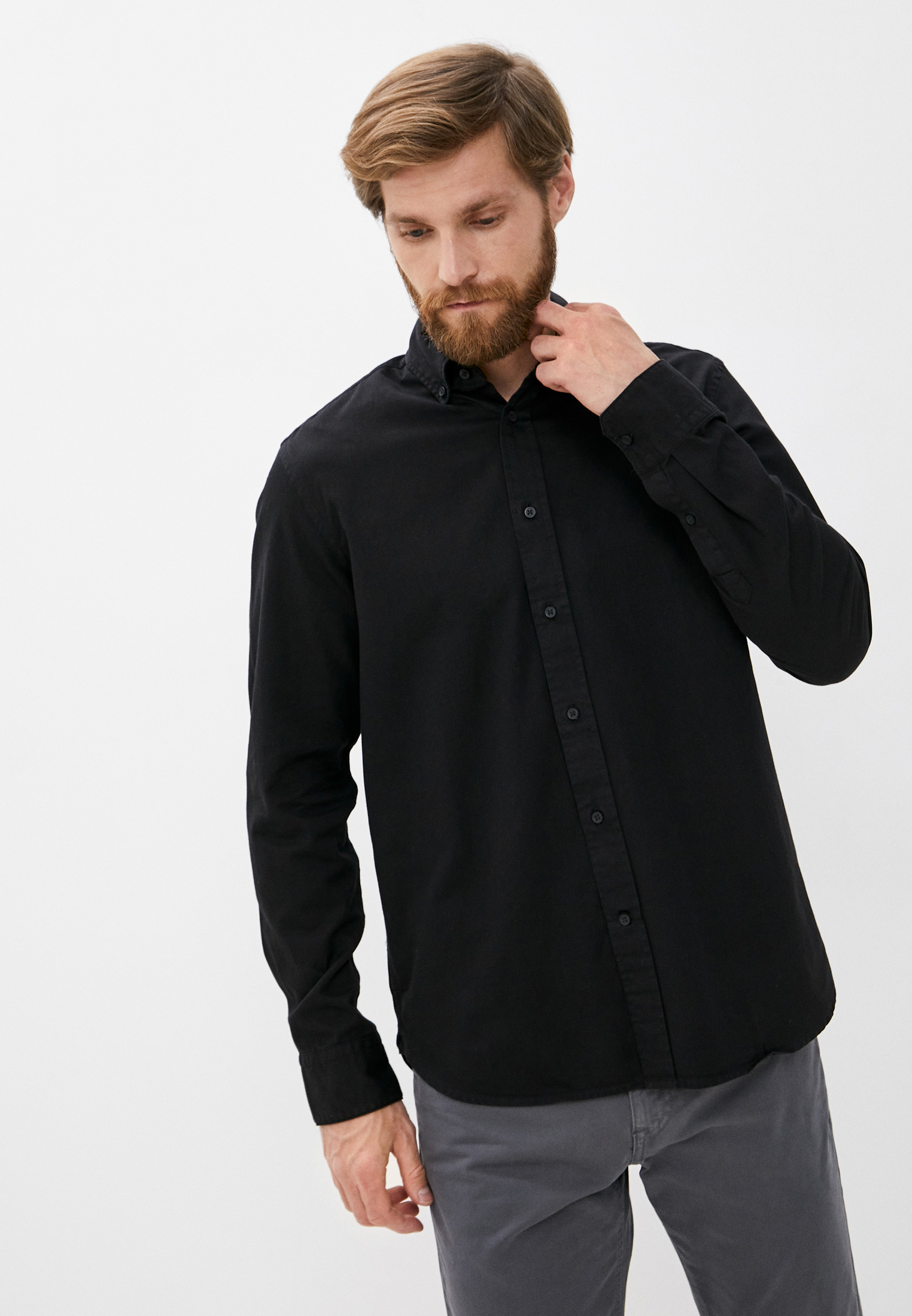 Рубашка с длинным рукавом Calvin Klein (Кельвин Кляйн) k10k105993: изображение 1