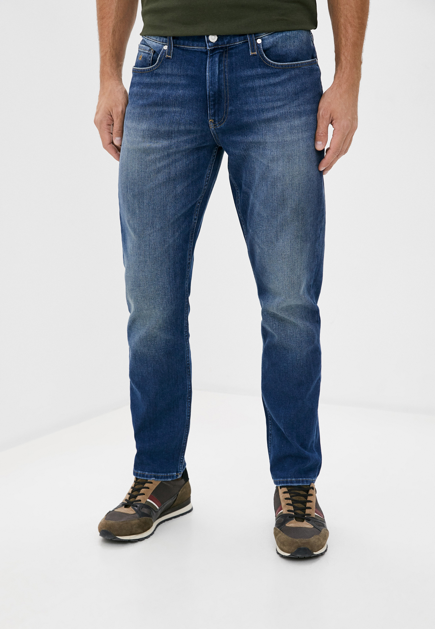 Мужские прямые джинсы Calvin Klein (Кельвин Кляйн) k10k106200