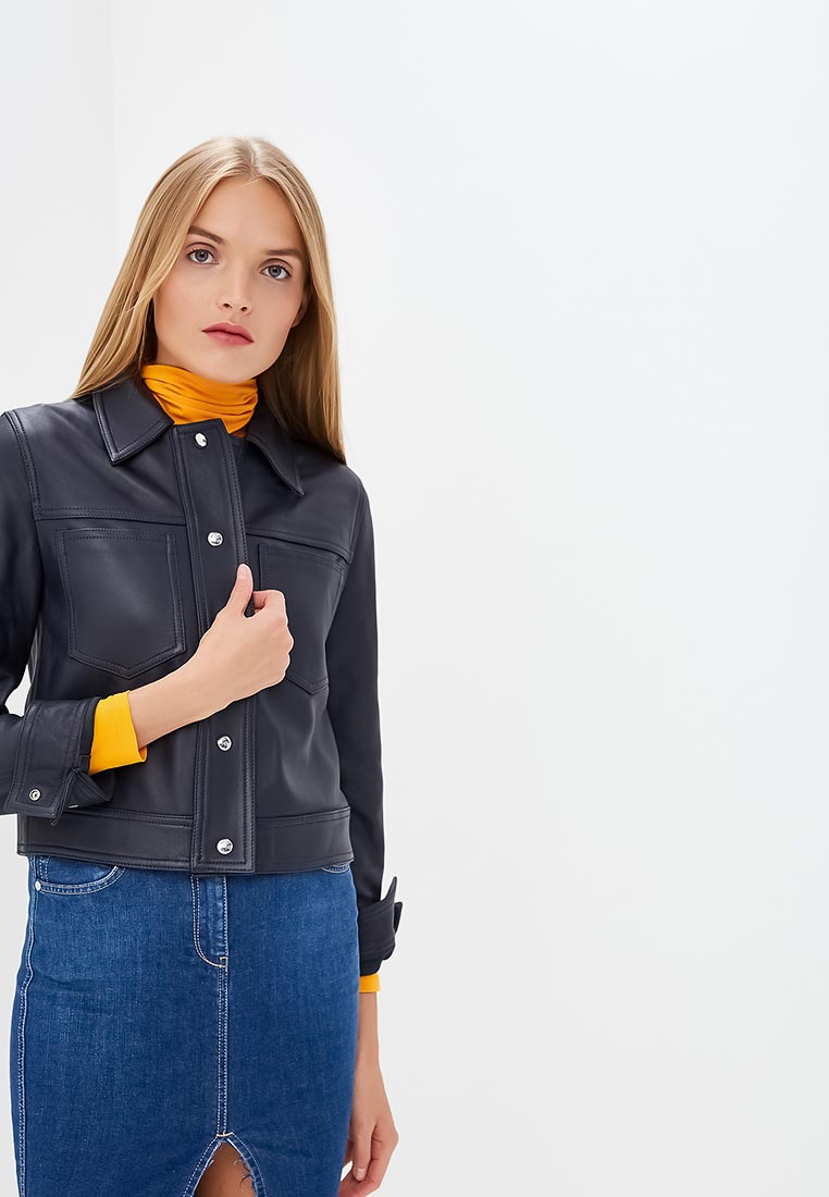 Кожаная куртка Calvin Klein (Кельвин Кляйн) K20K200047
