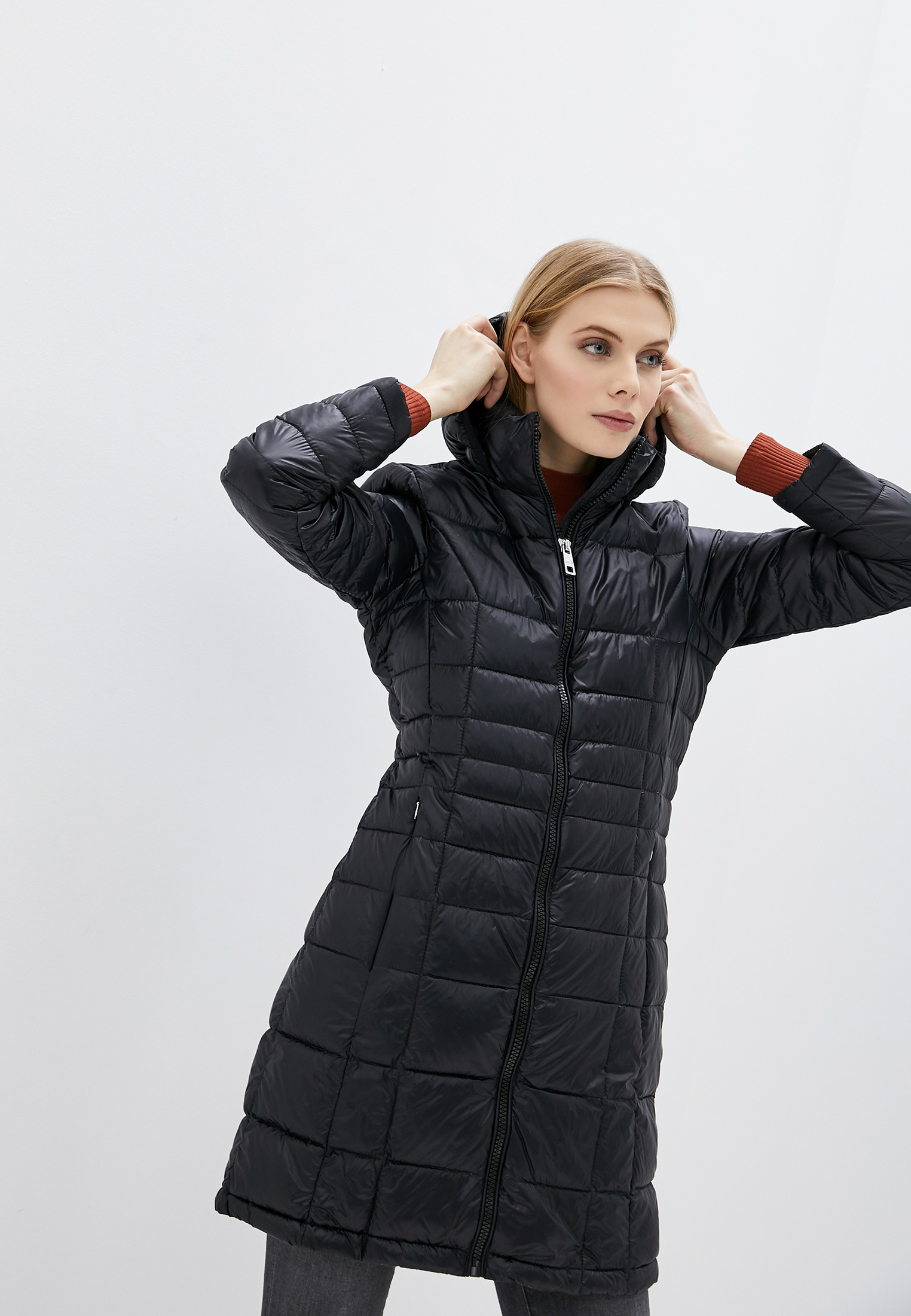 Утепленная куртка Calvin Klein (Кельвин Кляйн) Пуховик Calvin Klein