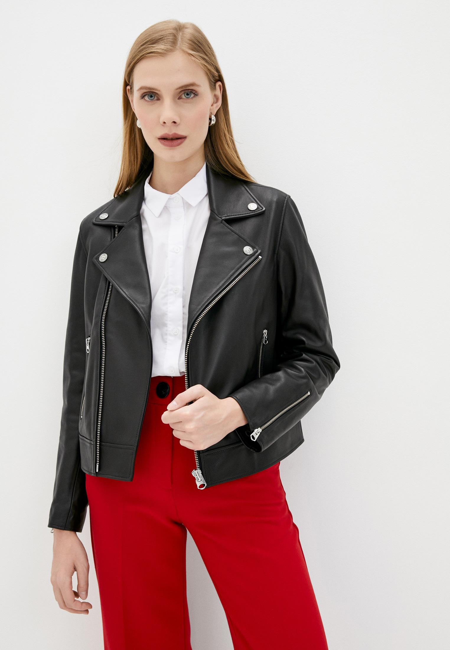 Кожаная куртка Calvin Klein (Кельвин Кляйн) K20K202057: изображение 1