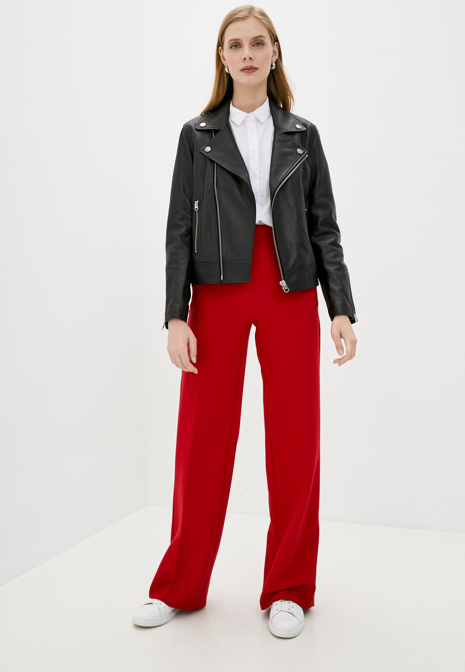 Кожаная куртка Calvin Klein (Кельвин Кляйн) K20K202057: изображение 2