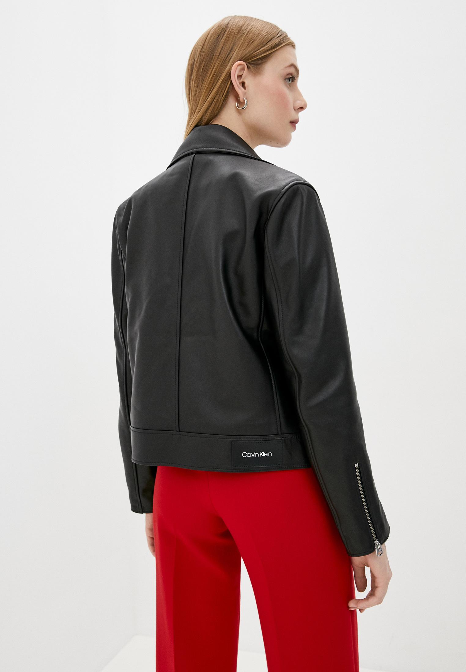 Кожаная куртка Calvin Klein (Кельвин Кляйн) K20K202057: изображение 3
