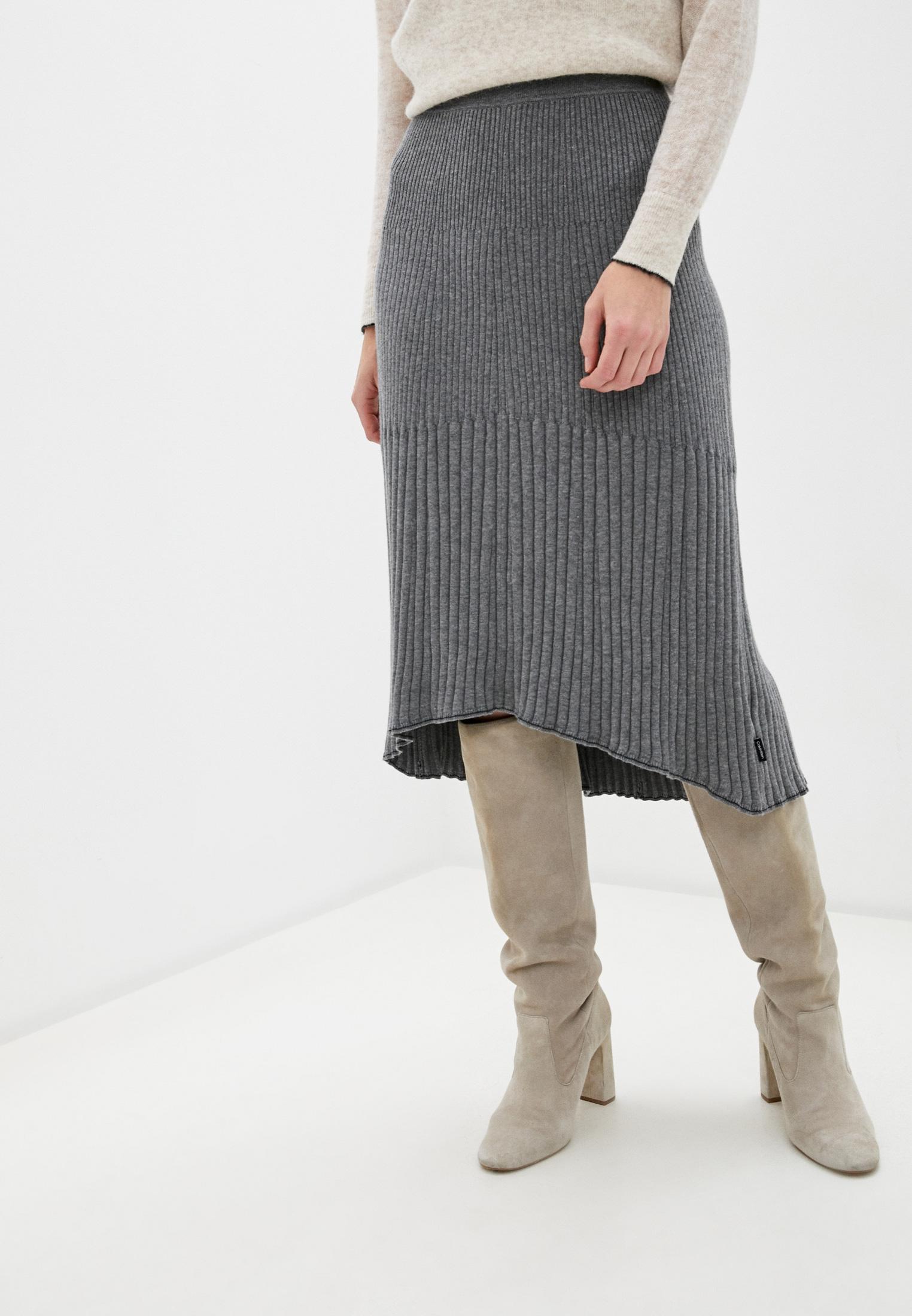 Широкая юбка Calvin Klein (Кельвин Кляйн) K20K202328: изображение 1