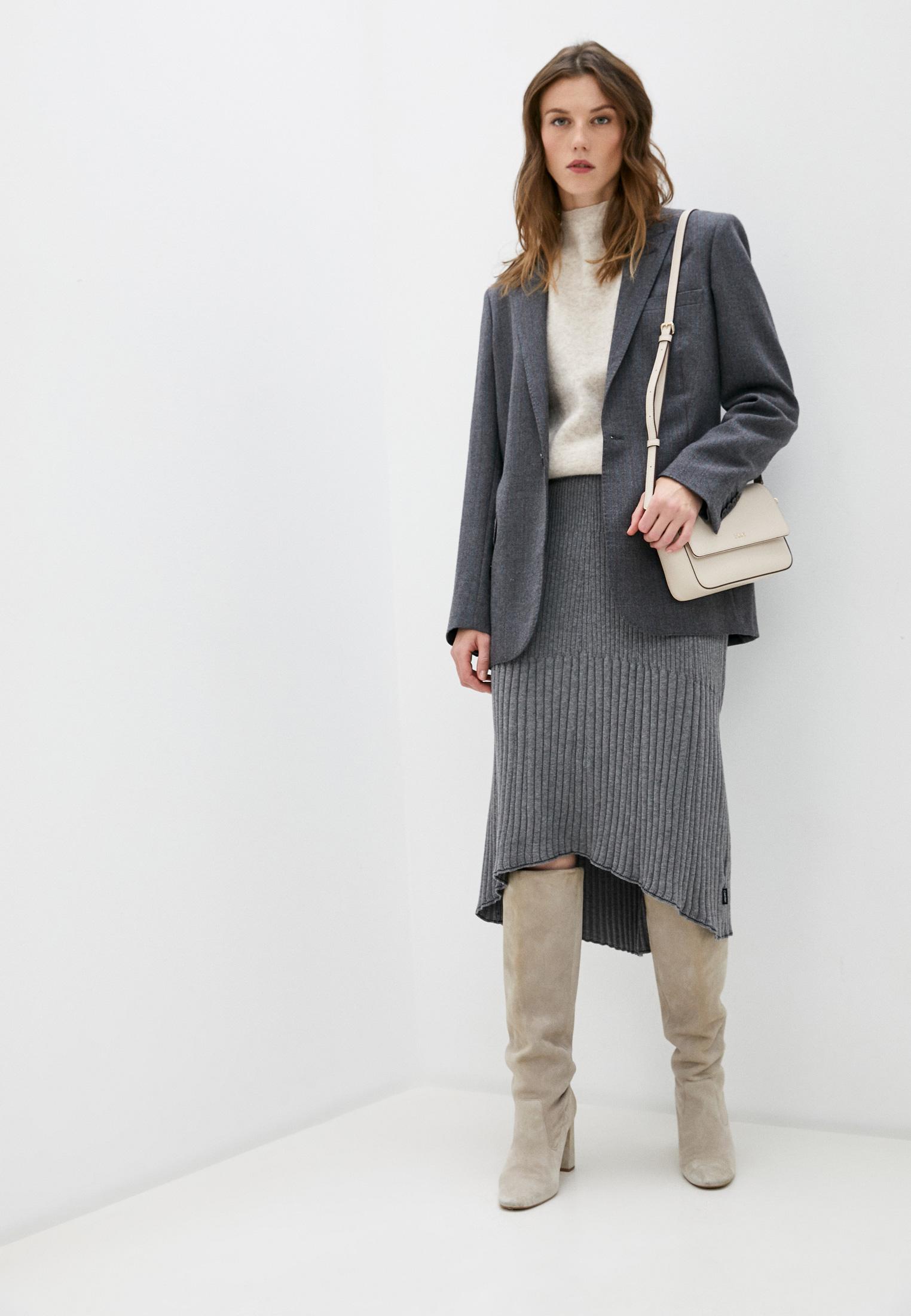 Широкая юбка Calvin Klein (Кельвин Кляйн) K20K202328: изображение 3