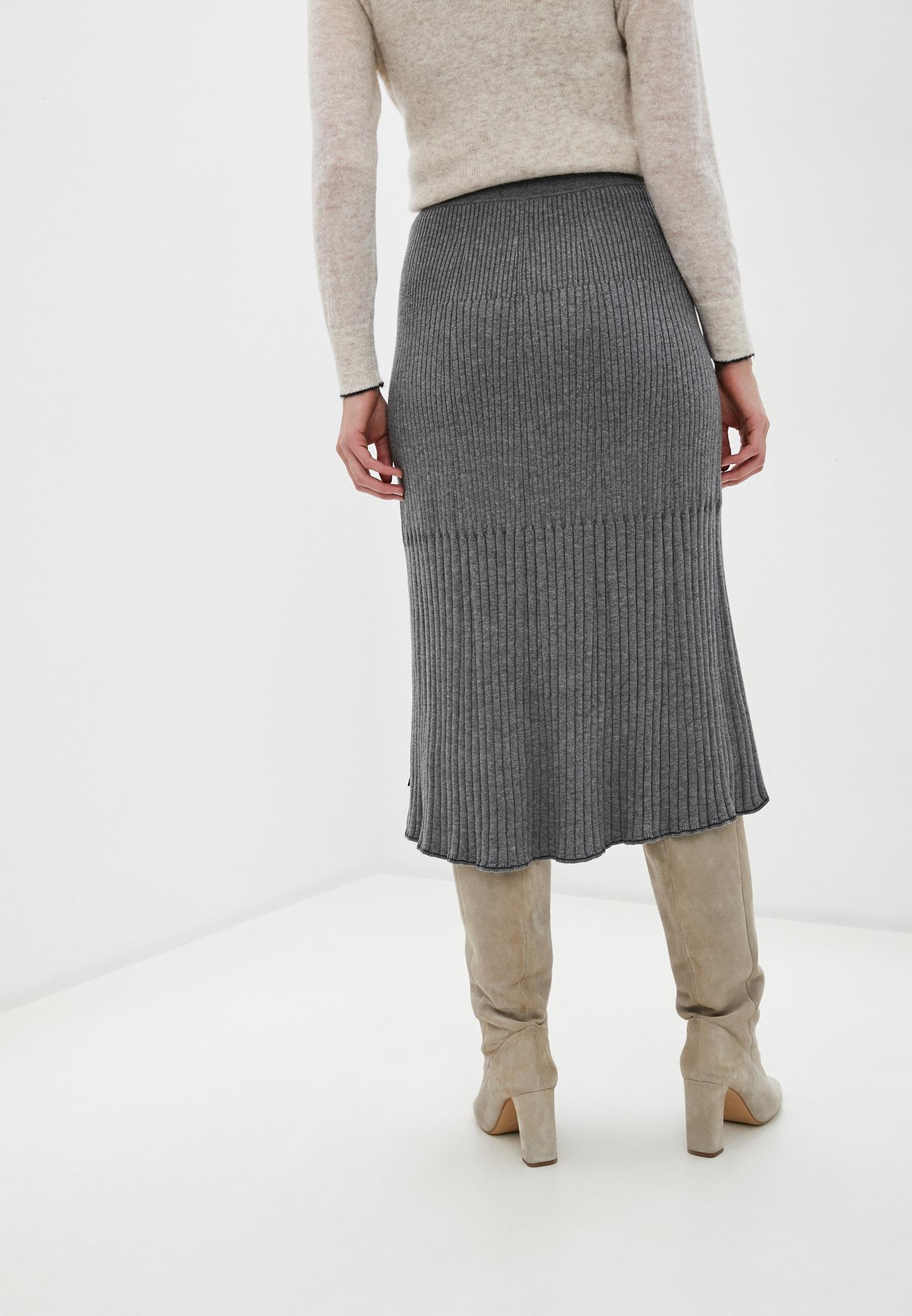 Широкая юбка Calvin Klein (Кельвин Кляйн) K20K202328: изображение 4