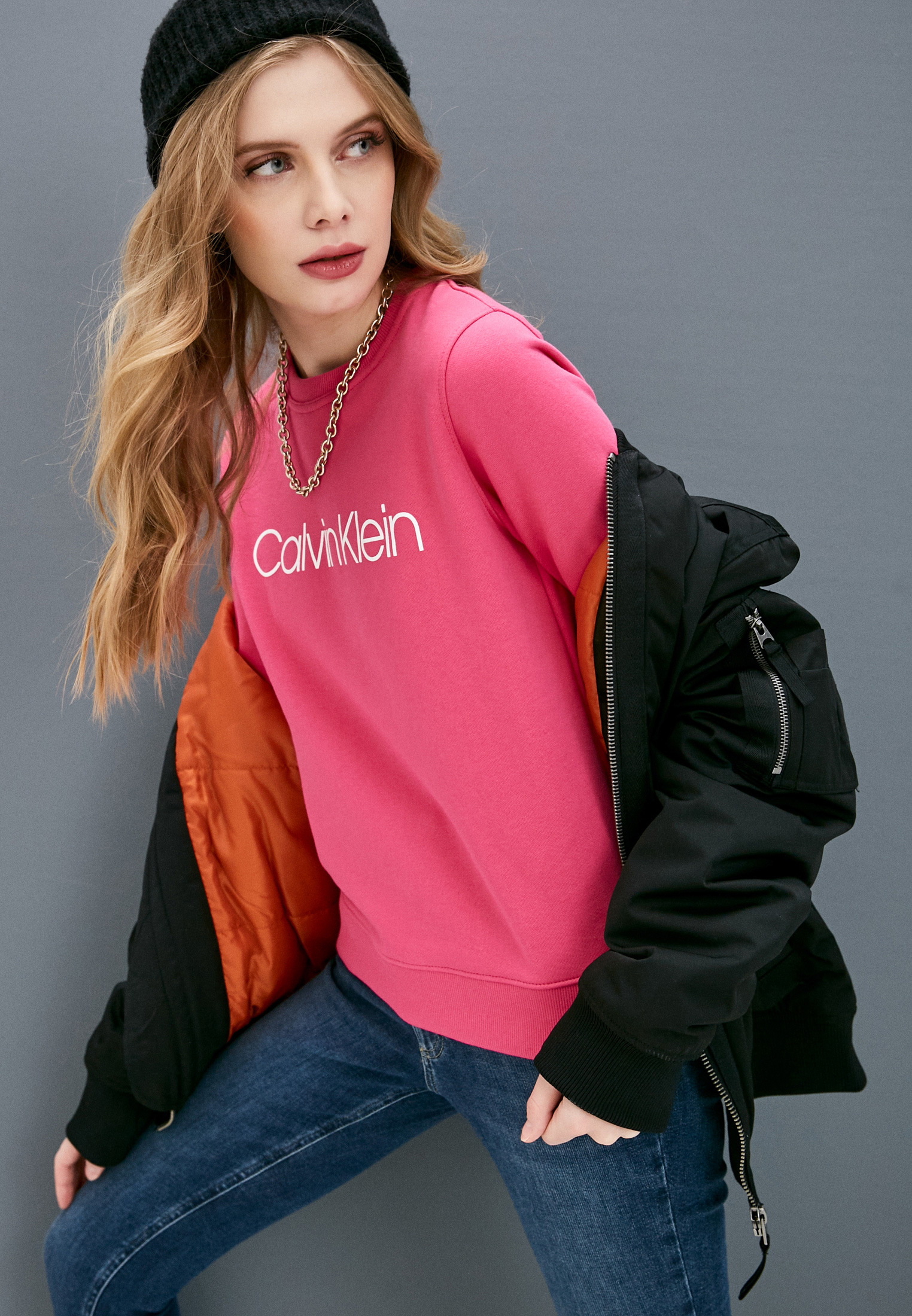 Свитер Calvin Klein (Кельвин Кляйн) K20K202157: изображение 7