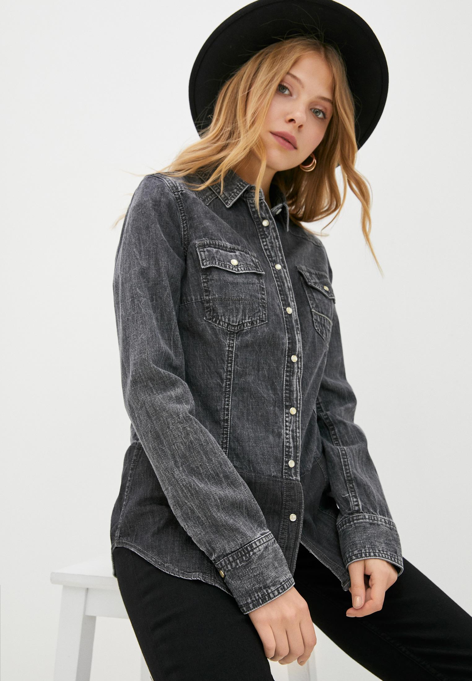 Женские джинсовые рубашки Care Label GRACE 960_UN BLACK 209_273 HARMONY