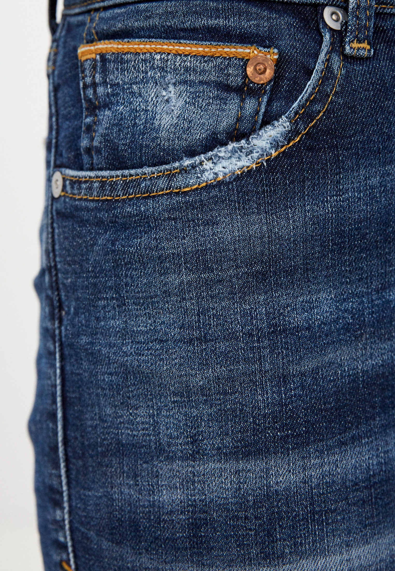 Зауженные джинсы Care Label CIGAR 137_NAY 215_217: изображение 4