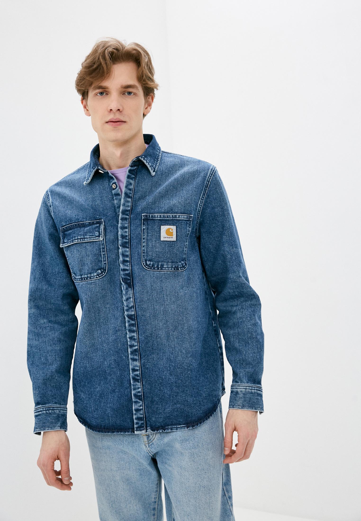 Рубашка Carhartt WIP Рубашка джинсовая Carhartt WIP