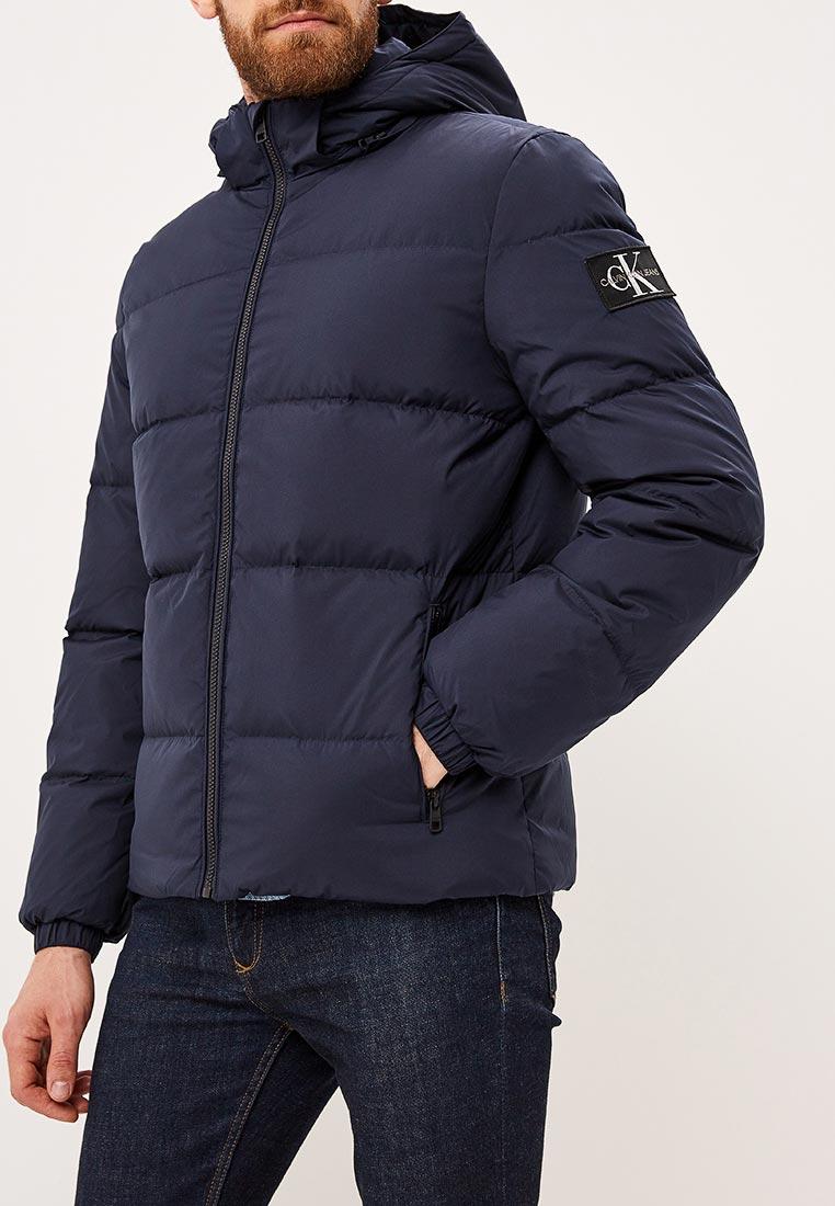 4daaac5d48f Утепленная куртка мужская Calvin Klein Jeans J30J309487 цвет синий ...