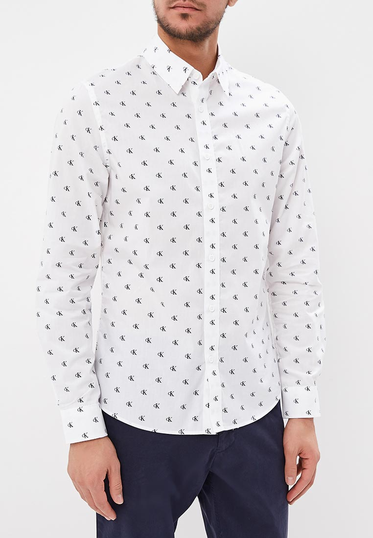 Рубашка с длинным рукавом Calvin Klein Jeans J30J310493