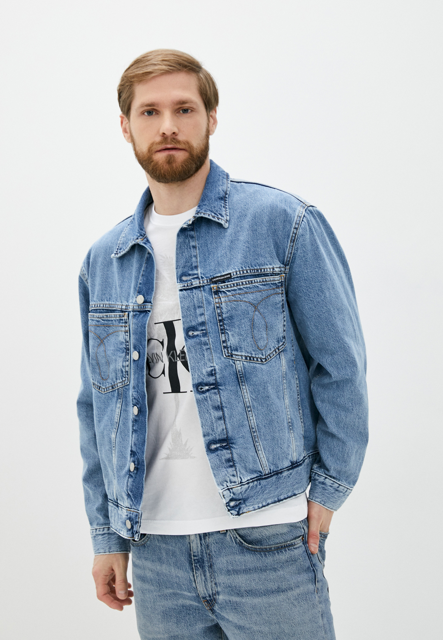 Джинсовая куртка Calvin Klein Jeans J30J314659