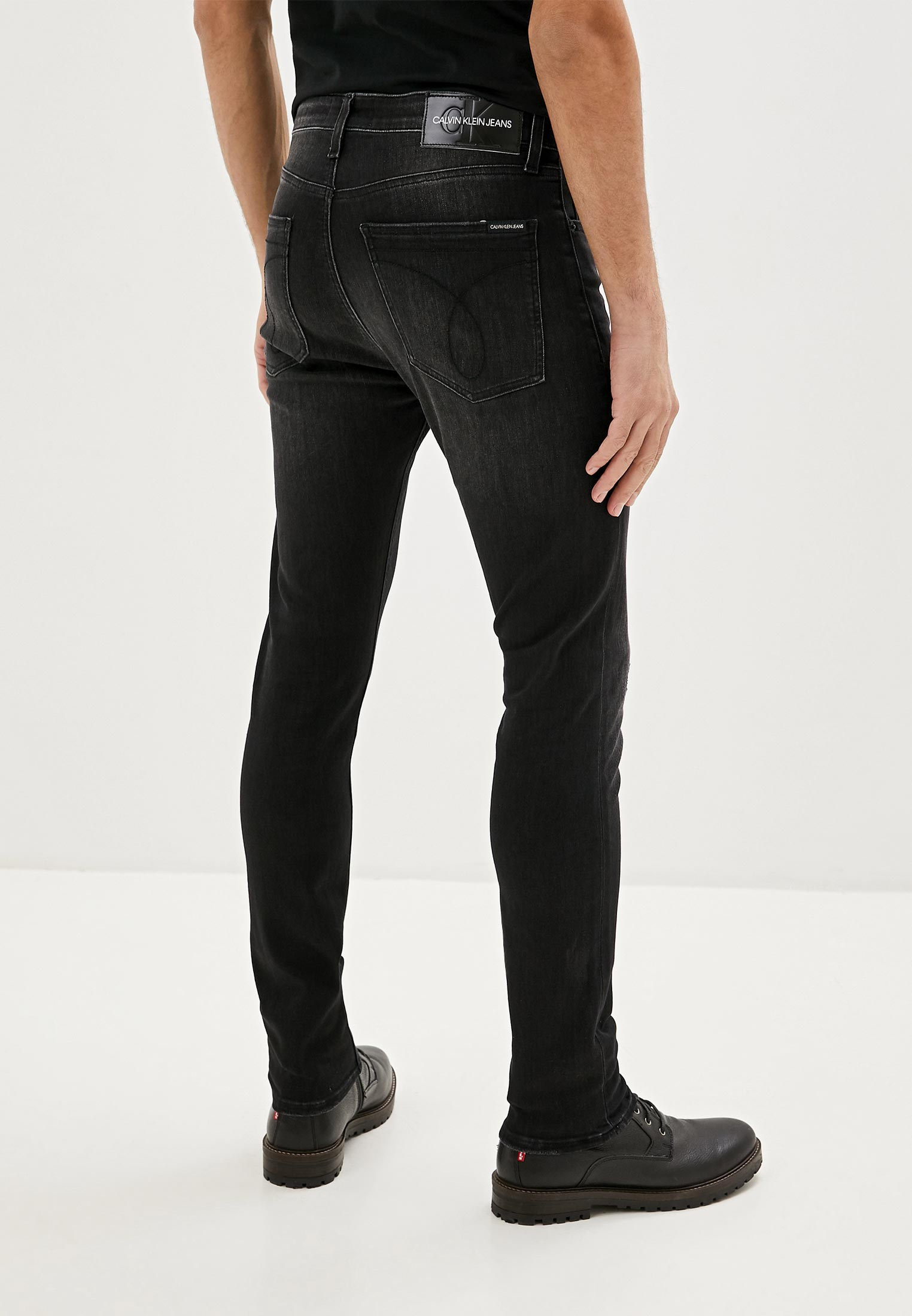 Зауженные джинсы Calvin Klein Jeans J30J314017: изображение 3