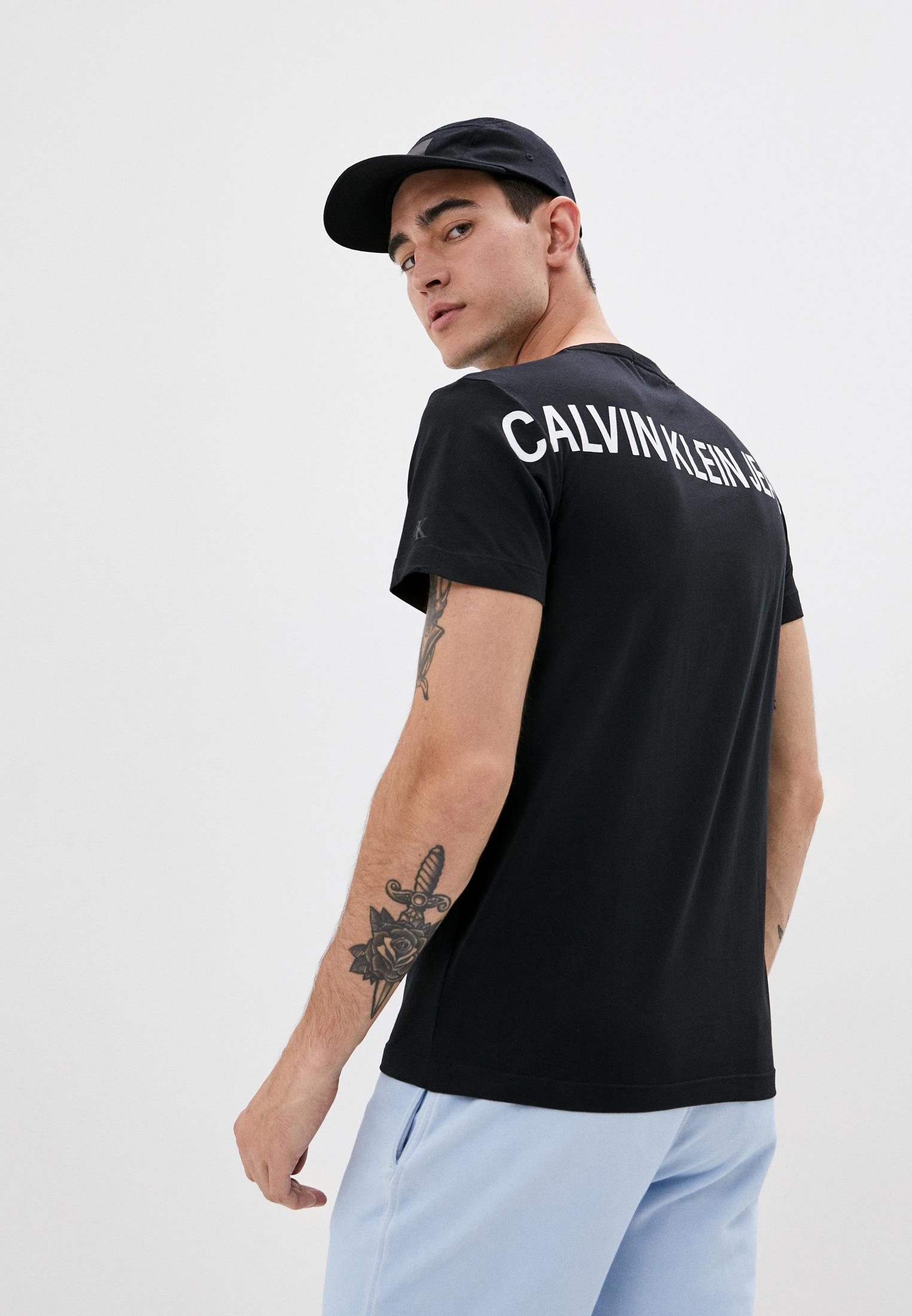 Футболка с коротким рукавом Calvin Klein Jeans J30J315728: изображение 1