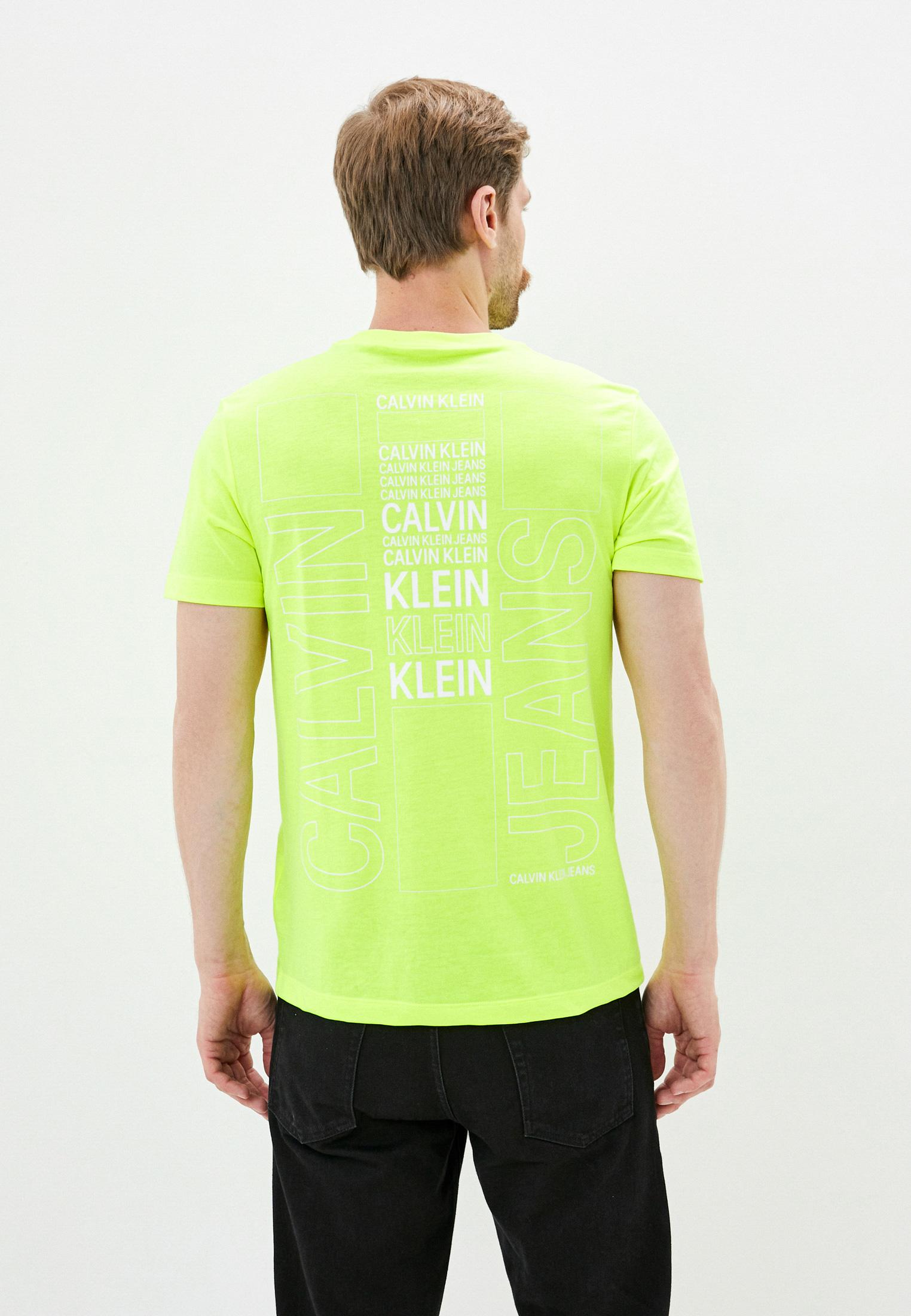 Футболка с коротким рукавом Calvin Klein Jeans J30J315729: изображение 3