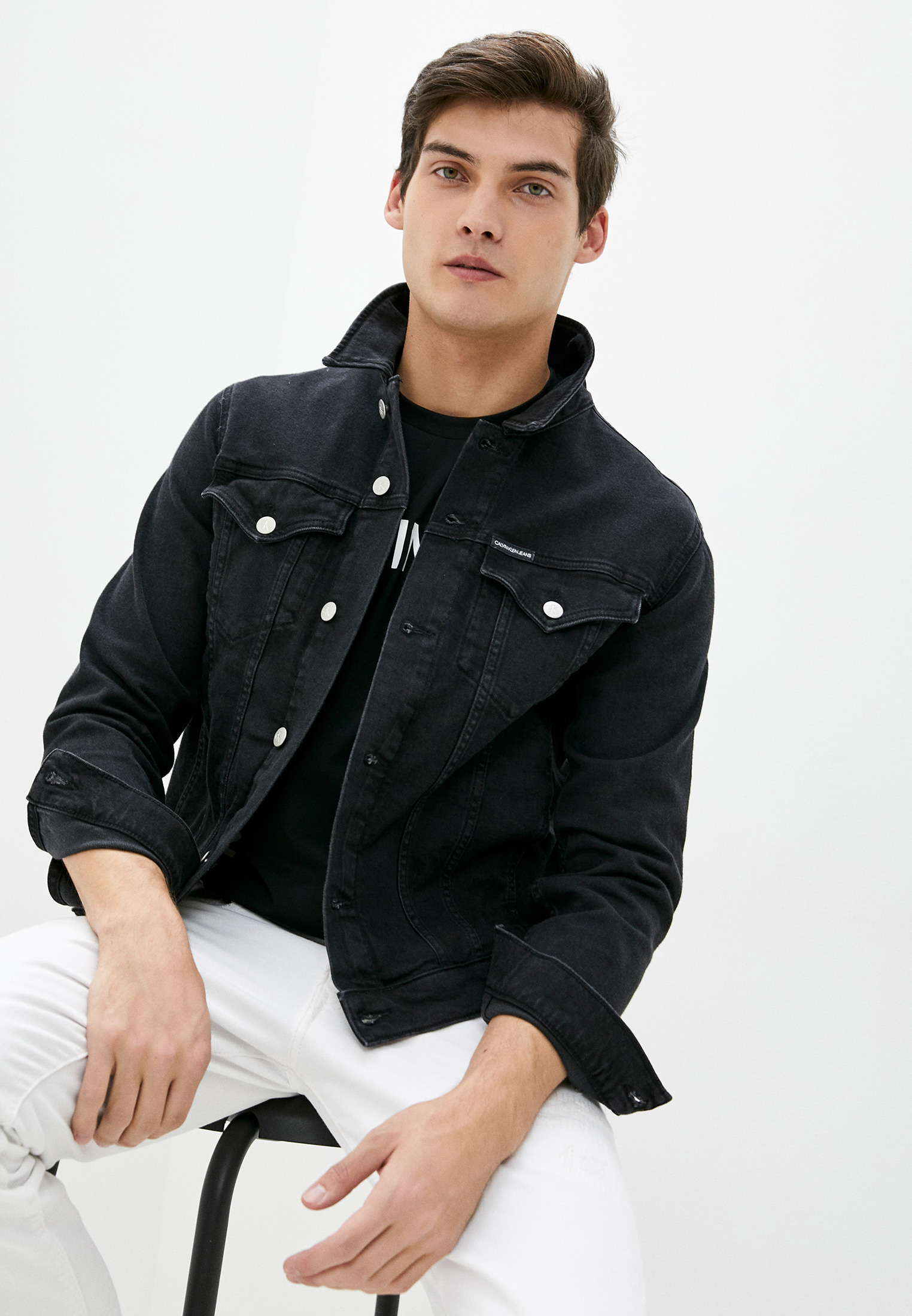 Джинсовая куртка Calvin Klein Jeans J30J316008