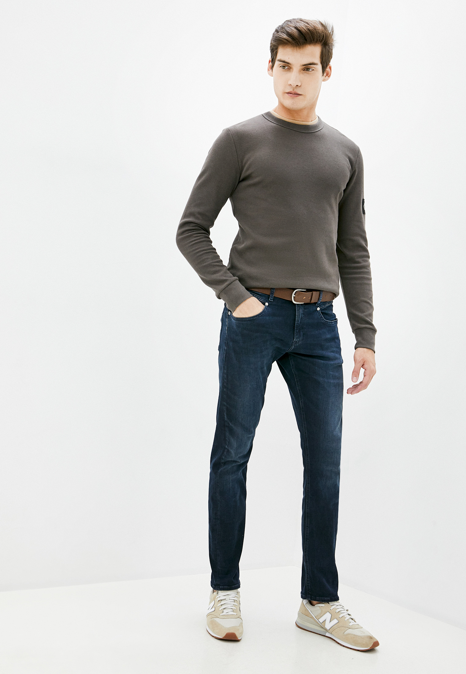 Зауженные джинсы Calvin Klein Jeans J30J316000: изображение 2