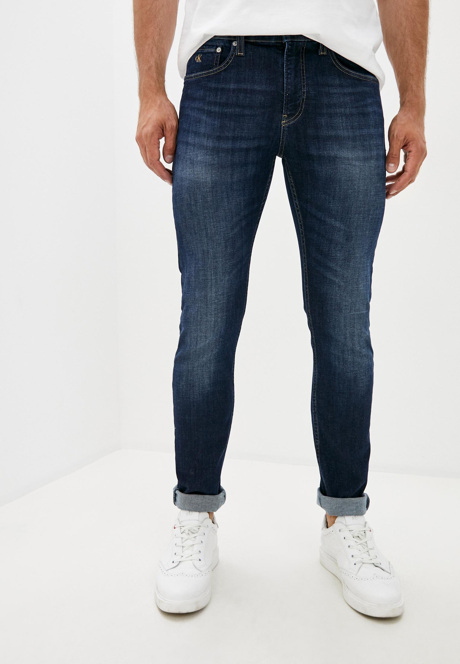 Зауженные джинсы Calvin Klein Jeans J30J315589: изображение 1