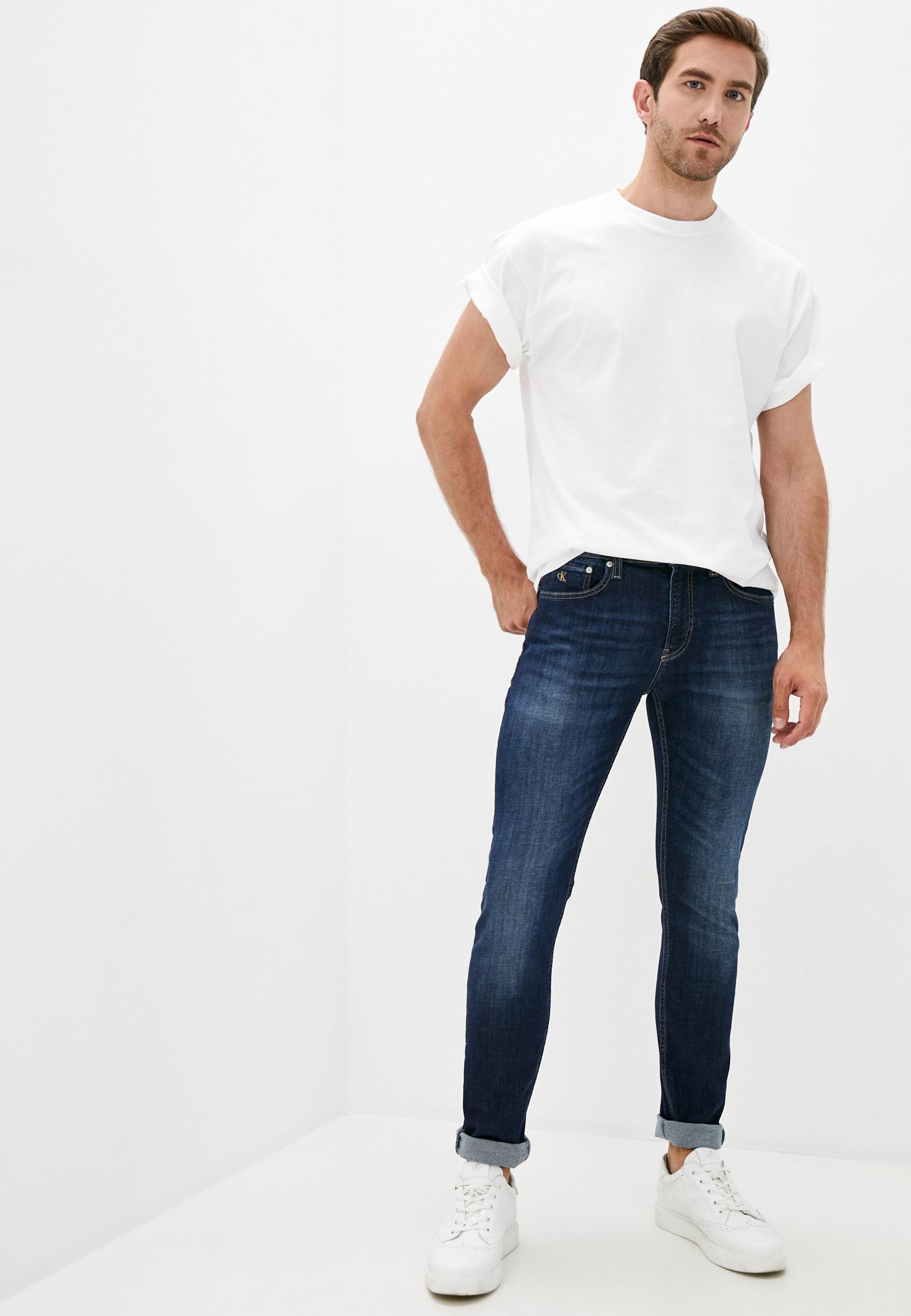 Зауженные джинсы Calvin Klein Jeans J30J315589: изображение 2