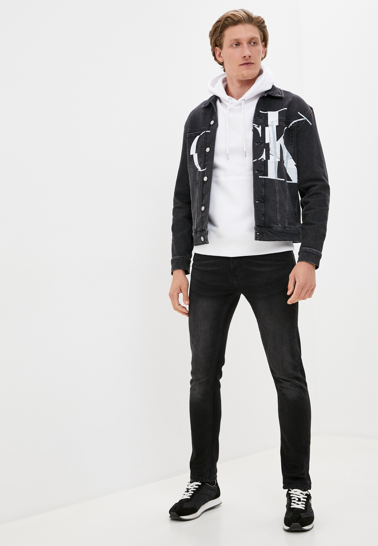 Джинсовая куртка Calvin Klein Jeans J30J316192: изображение 2
