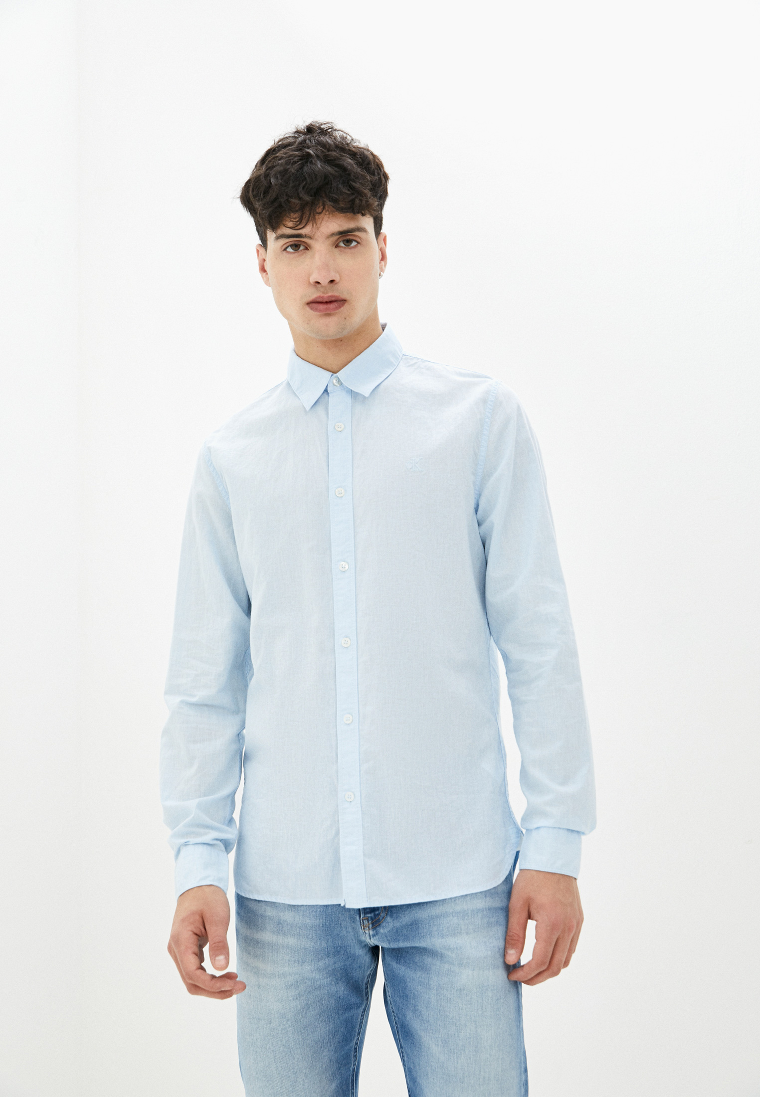 Рубашка с длинным рукавом Calvin Klein Jeans J30J317423