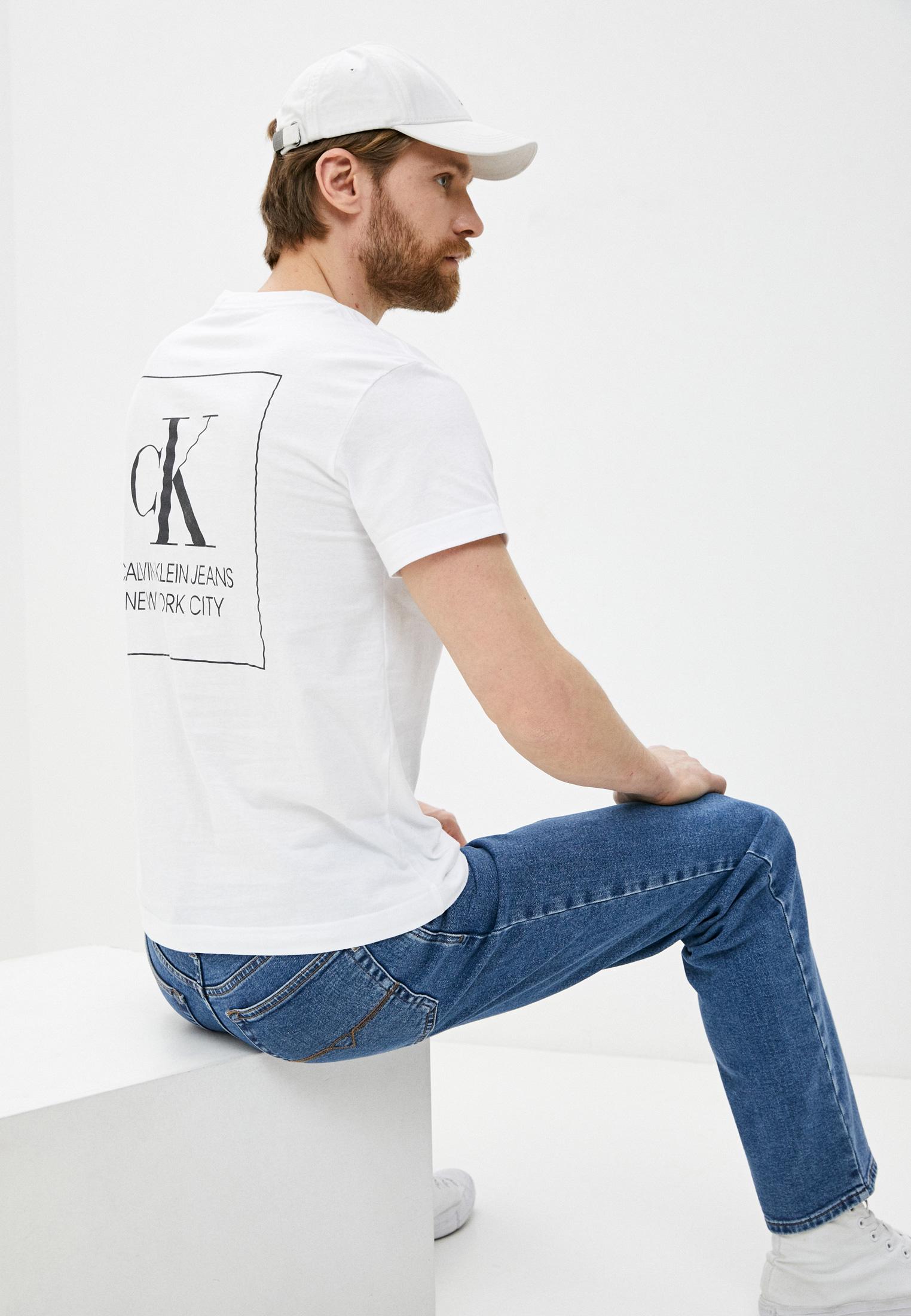 Футболка с коротким рукавом Calvin Klein Jeans J30J317492