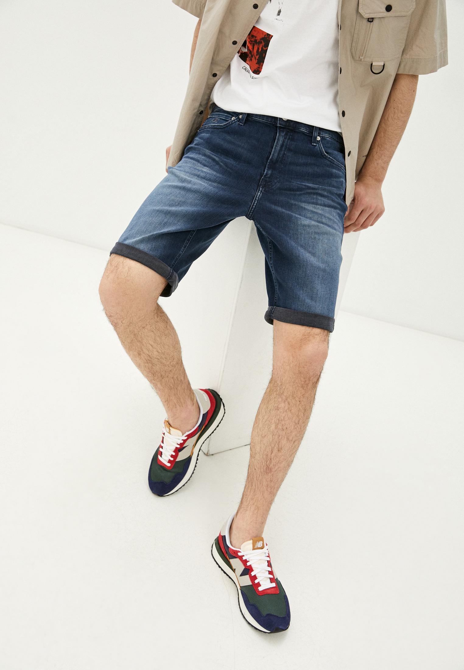 Мужские джинсовые шорты Calvin Klein Jeans J30J317740