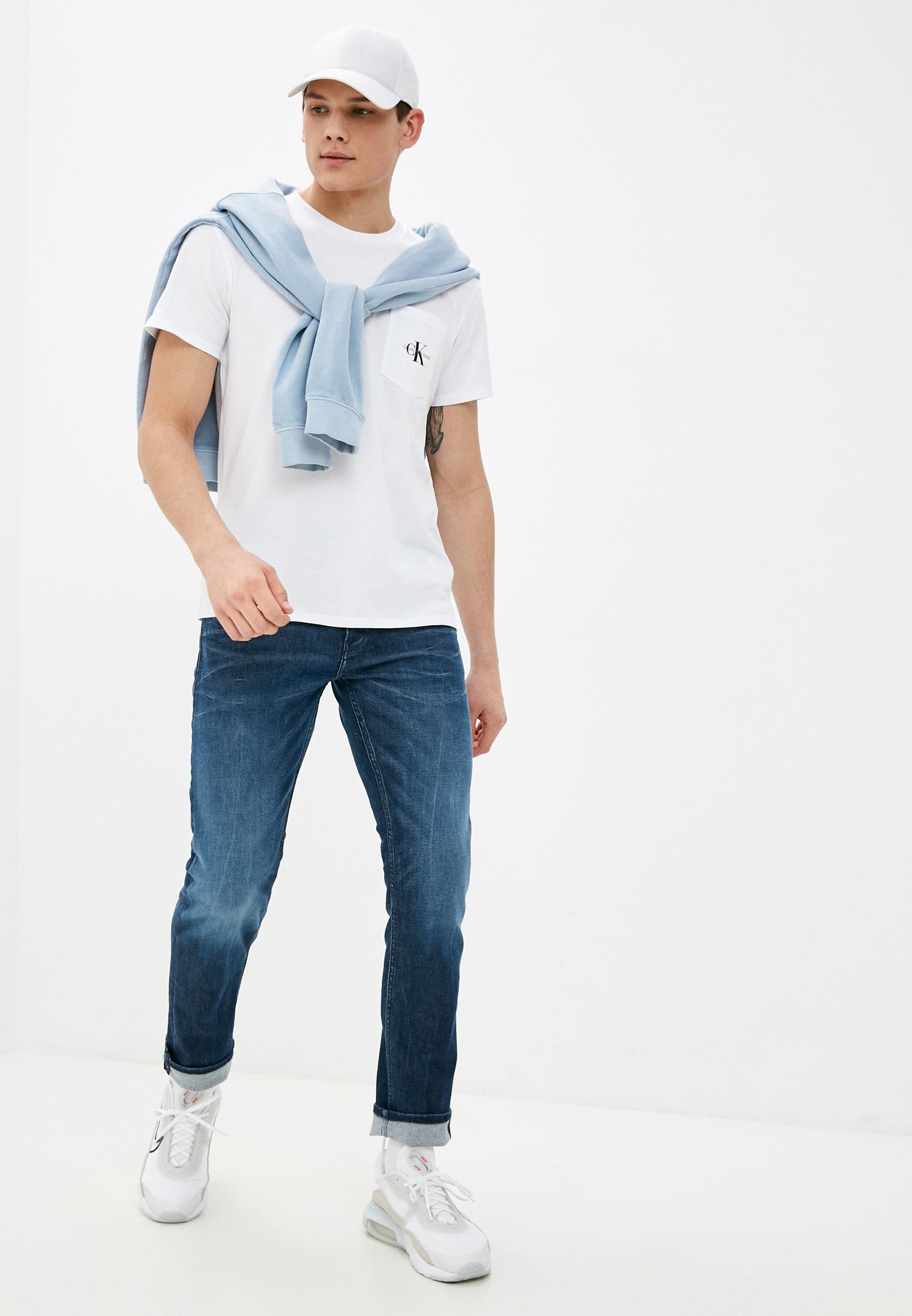 Зауженные джинсы Calvin Klein Jeans J30J317220: изображение 2