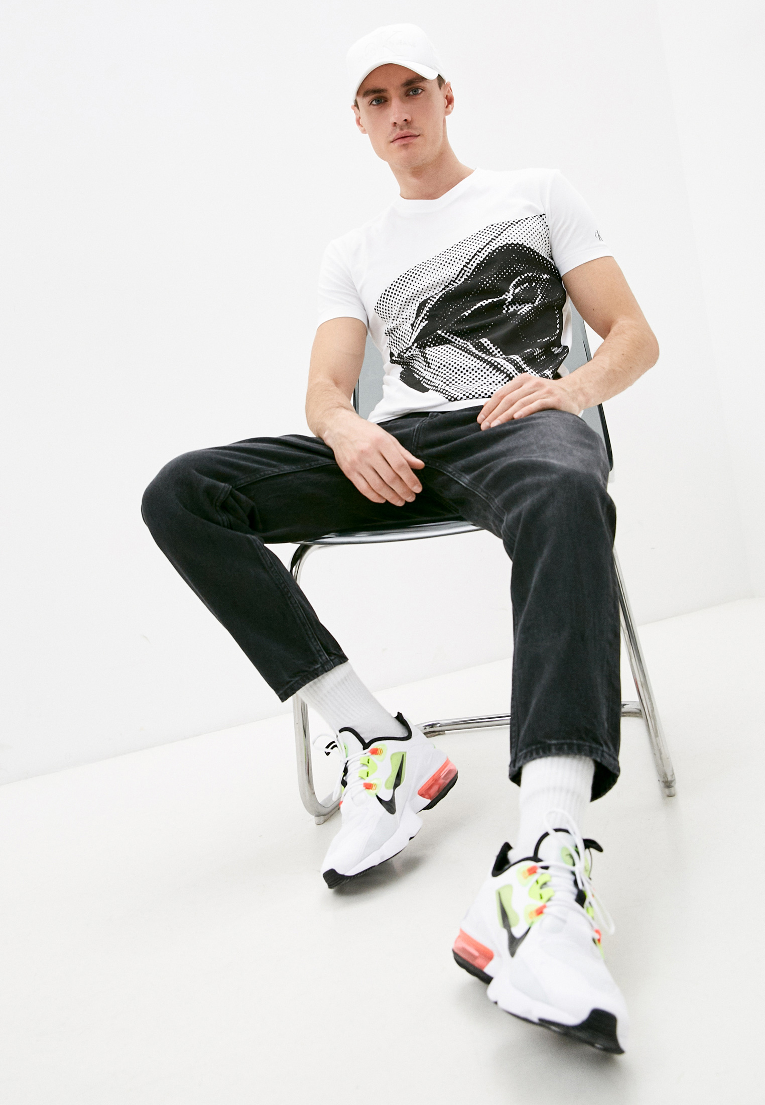 Мужские прямые джинсы Calvin Klein Jeans J30J317224: изображение 2