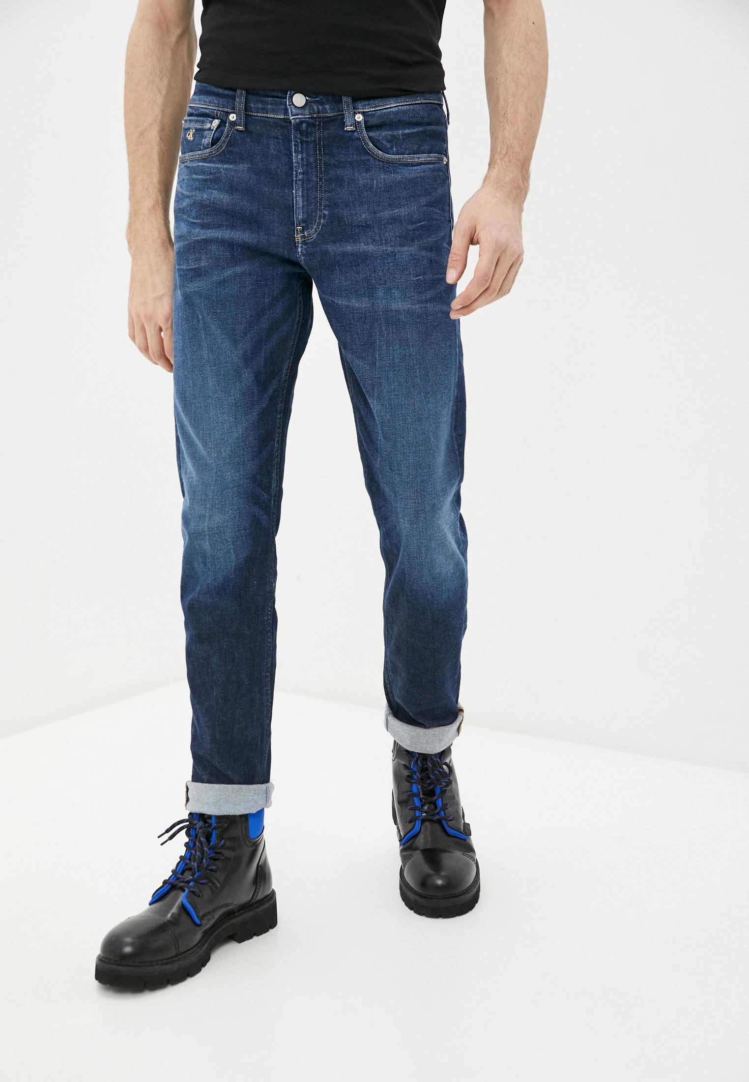 Зауженные джинсы Calvin Klein Jeans J30J317659: изображение 1