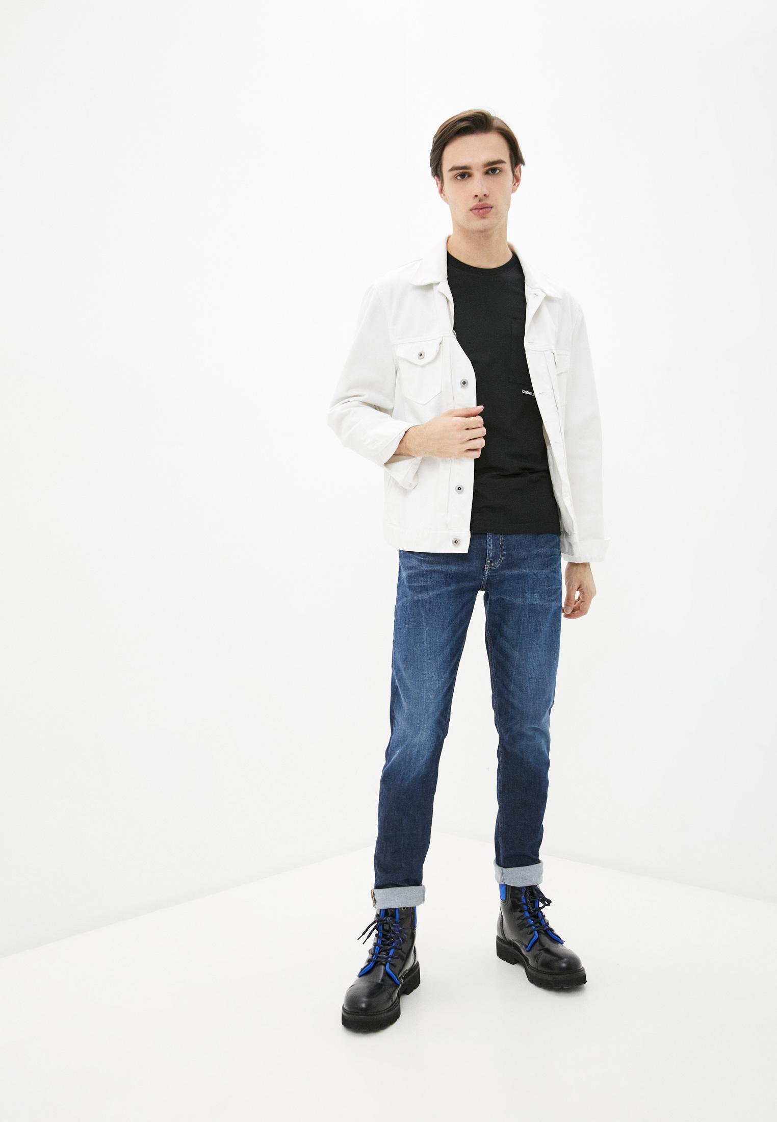 Зауженные джинсы Calvin Klein Jeans J30J317659: изображение 2