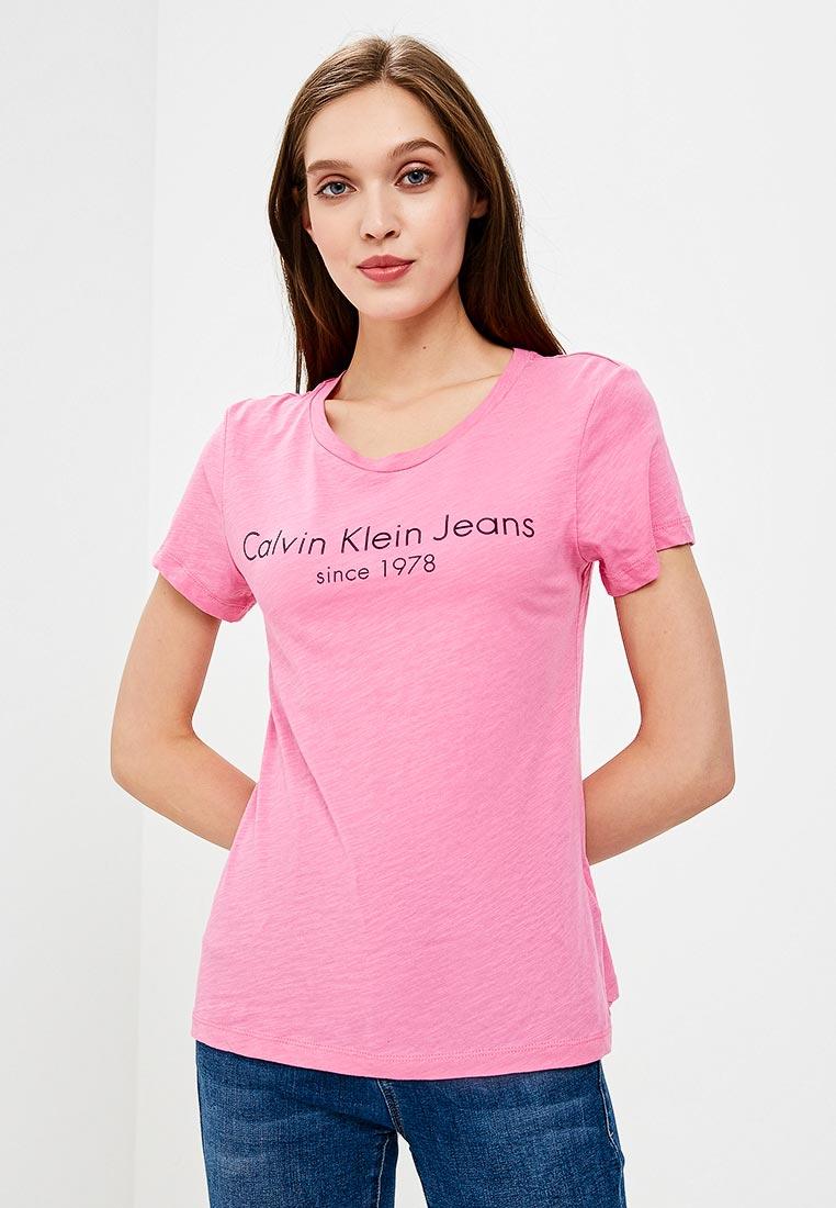 Футболка с коротким рукавом Calvin Klein Jeans J20J208341: изображение 1
