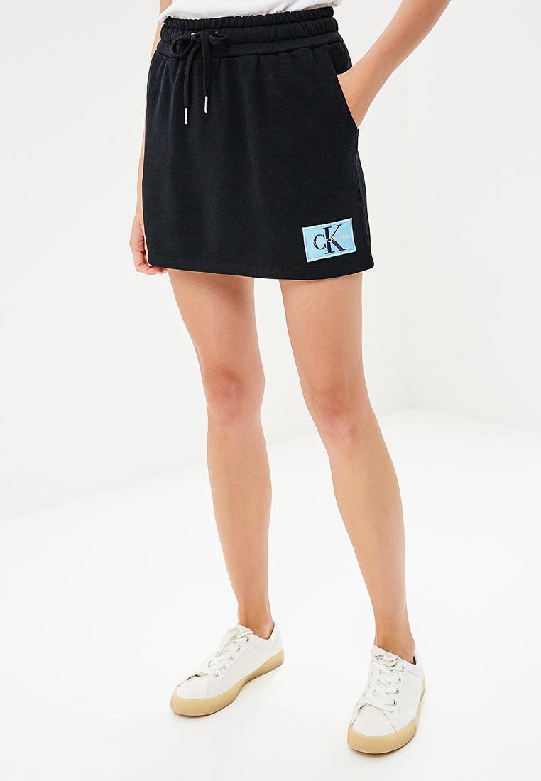 Прямая юбка Calvin Klein Jeans J20J208051