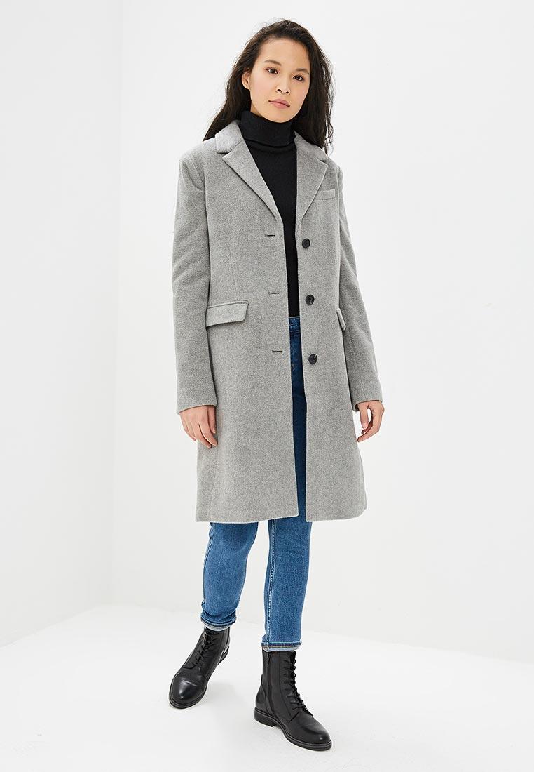 e2a21887331d Женские пальто Calvin Klein Jeans J20J208590 цвет серый купить за ...